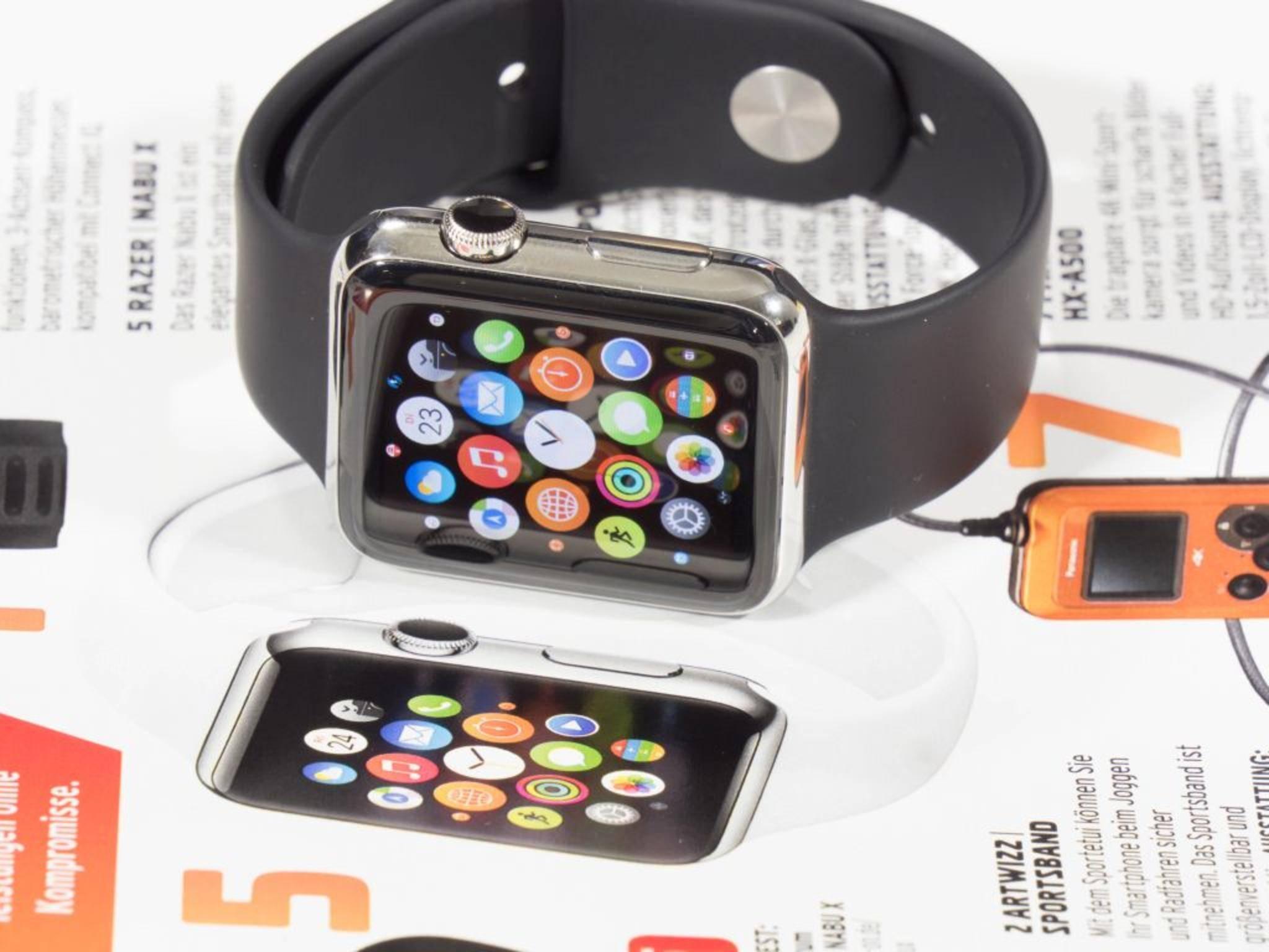 Die Apple Watch 2 kommt wohl mit GPS-Feature.