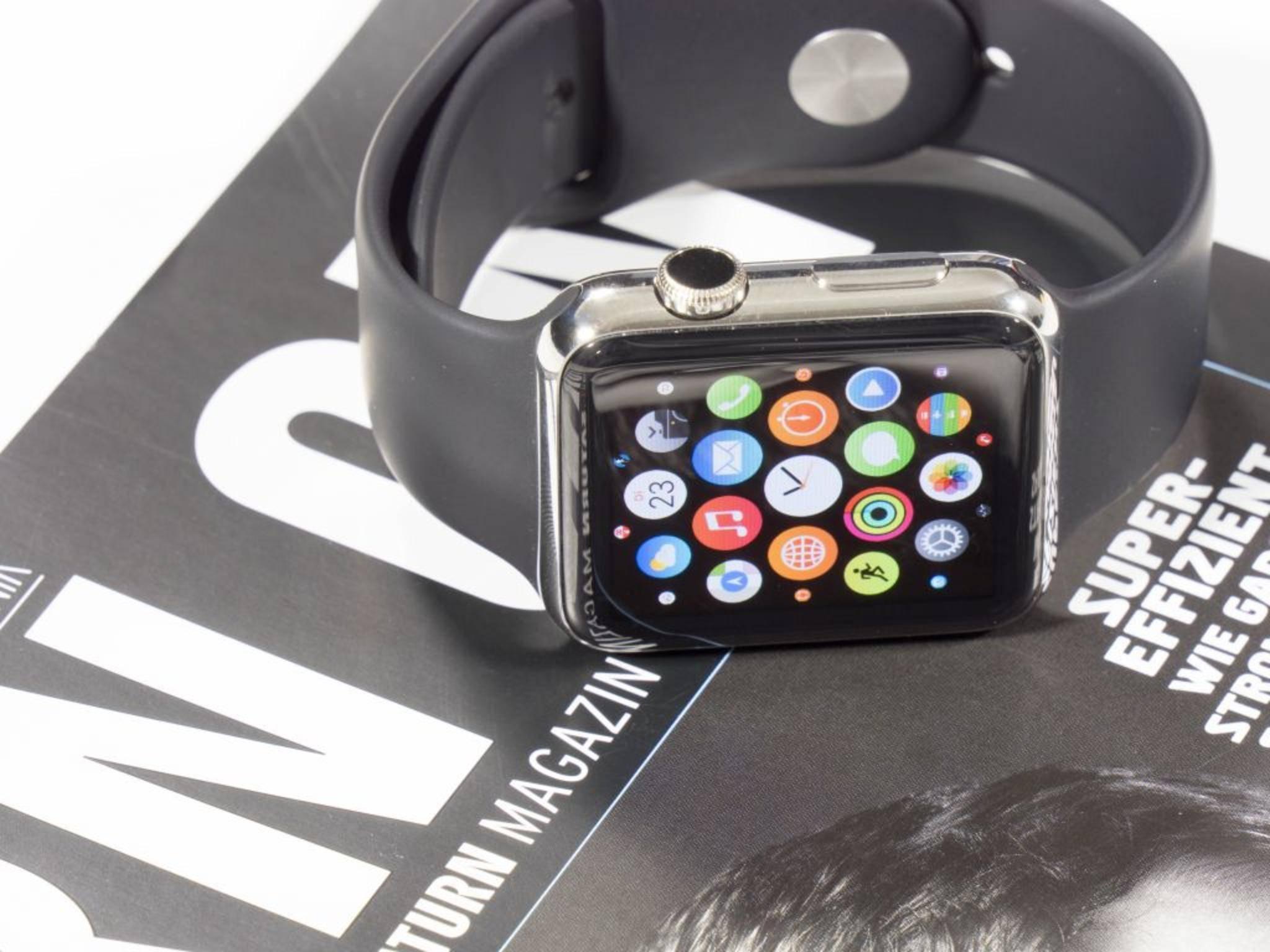 Die Apple Watch hat noch Verbesserungspotenzial.