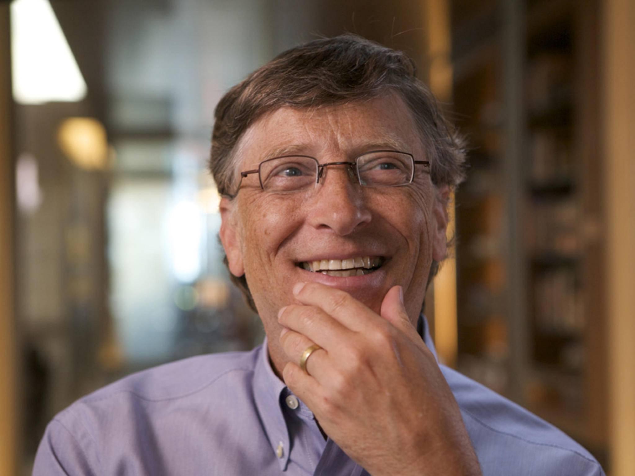 Bill Gates feiert seinen 60. Geburtstag.