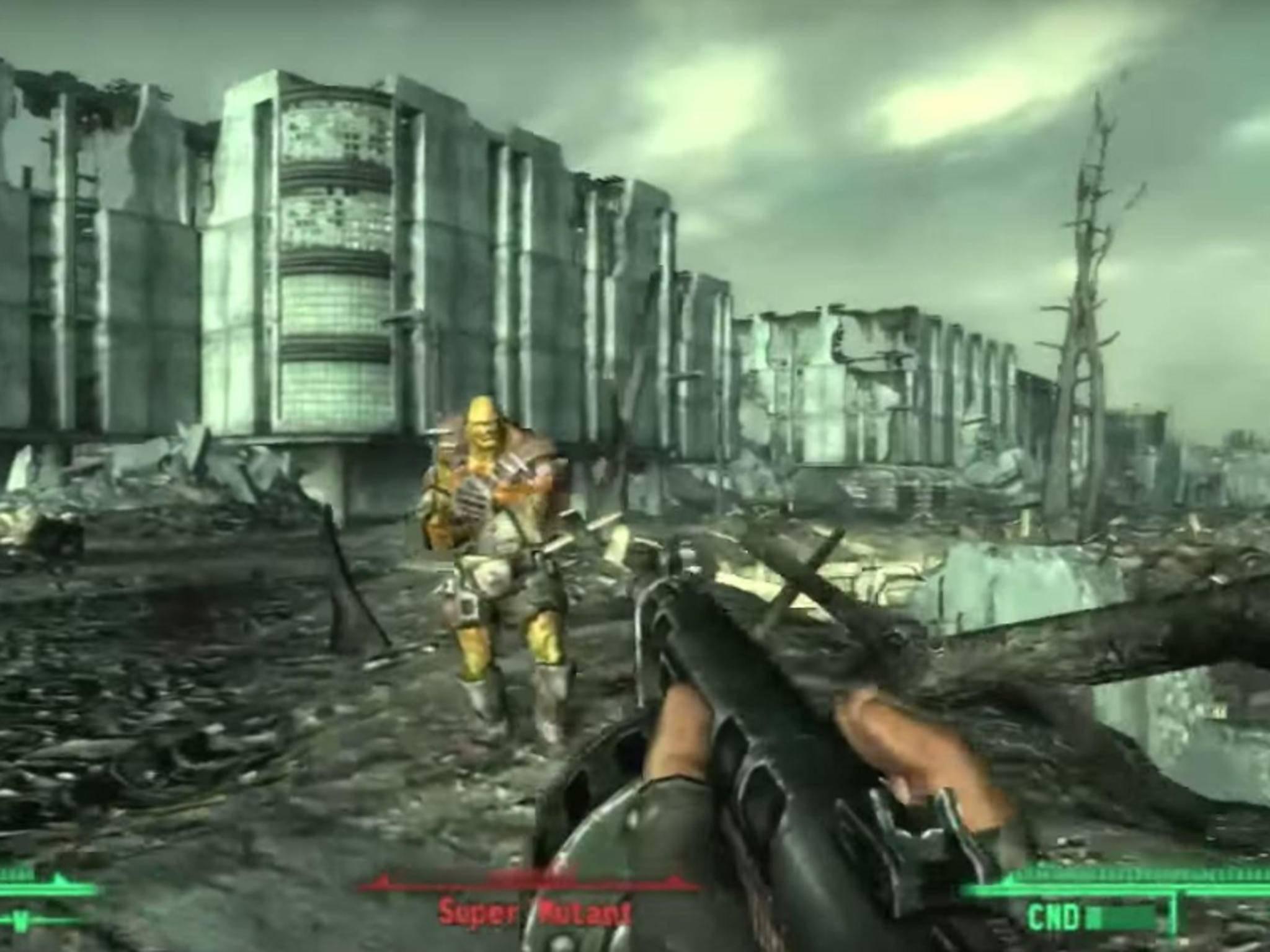 """Mit """"Fallout 3"""" wurde das Spielprinzip in die dritte Dimension verlagert."""