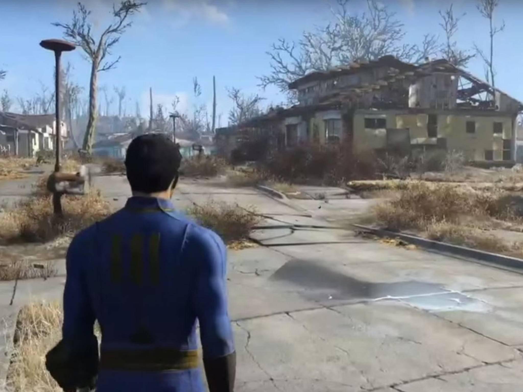 Die Aktionen des Spielers haben Einfluss auf die Spielwelt.