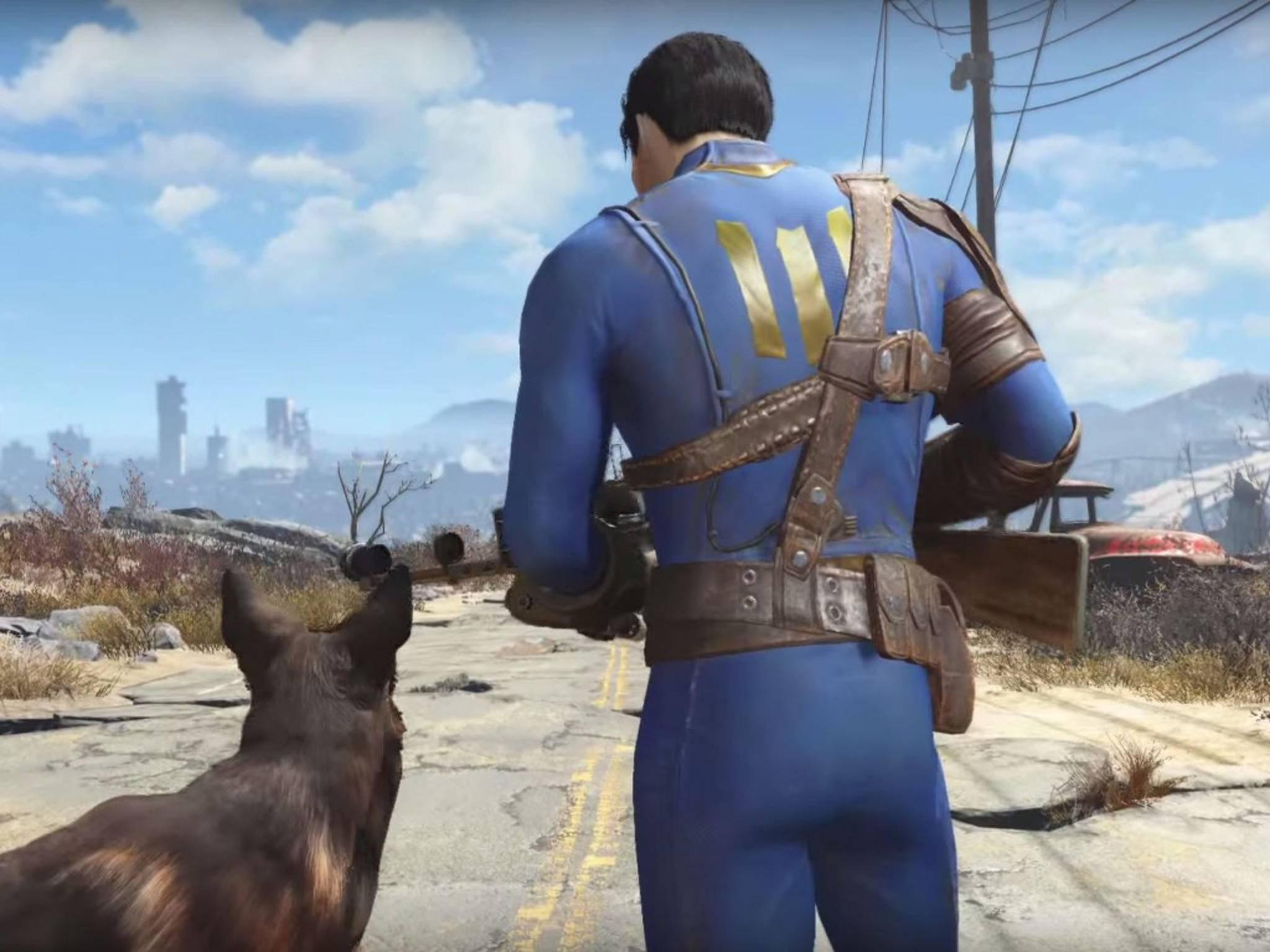 Fallout4: Ein Screenshot aus dem kürzlich präsentierten Trailer.