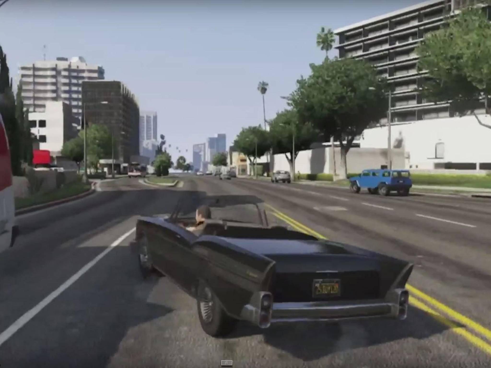 """""""GTA 5"""" erschien 2013 für PS3 und Xbox 360 und setzte grafische und spielerische Maßstäbe."""