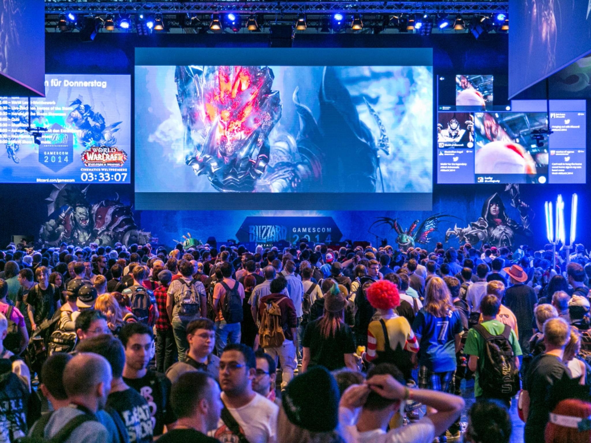 Auch 2015 wird Blizzard wieder auf der Gamescom vertreten sein.