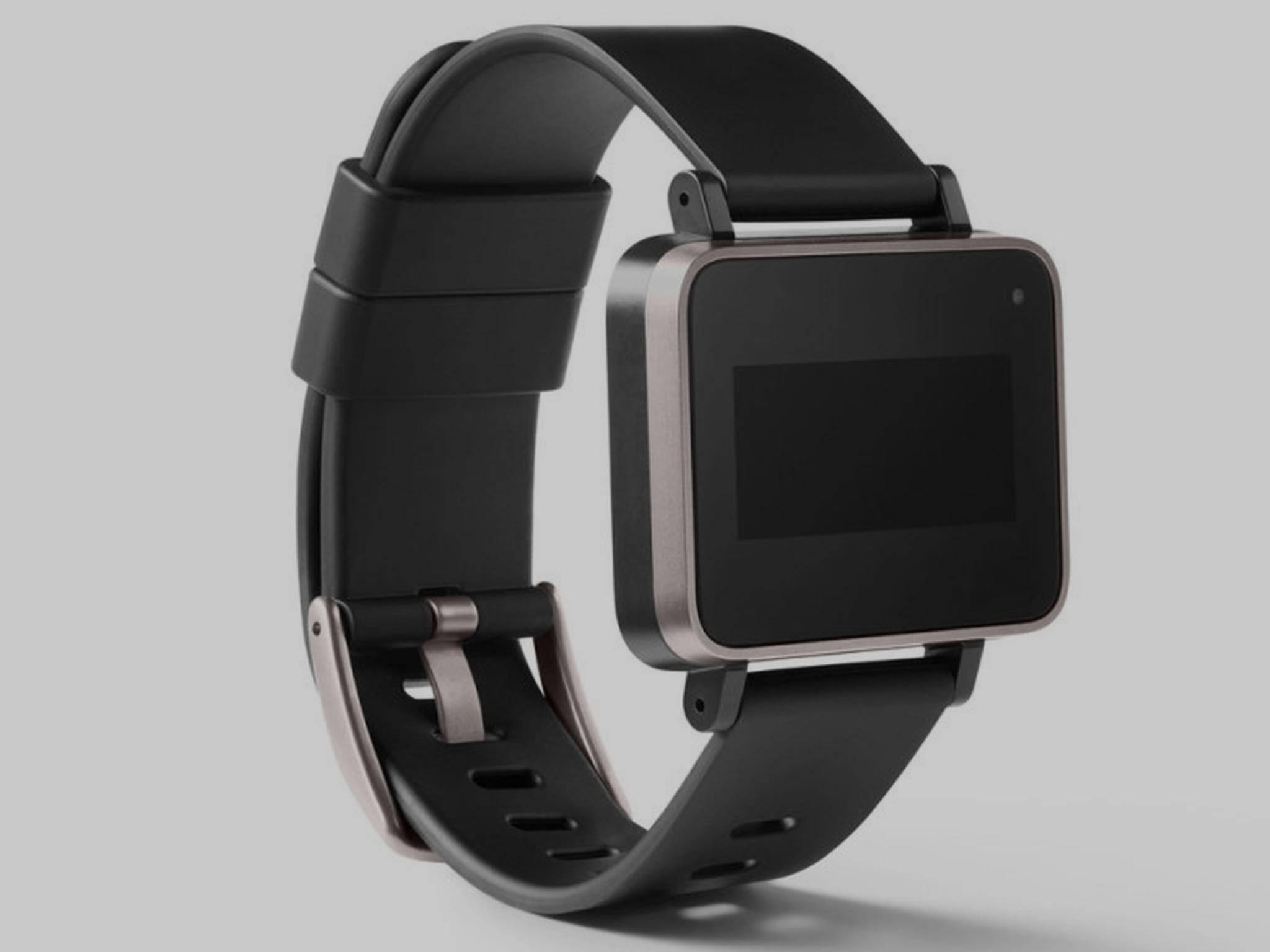 So könnte das Gesundheits-Wearable von Google aussehen.