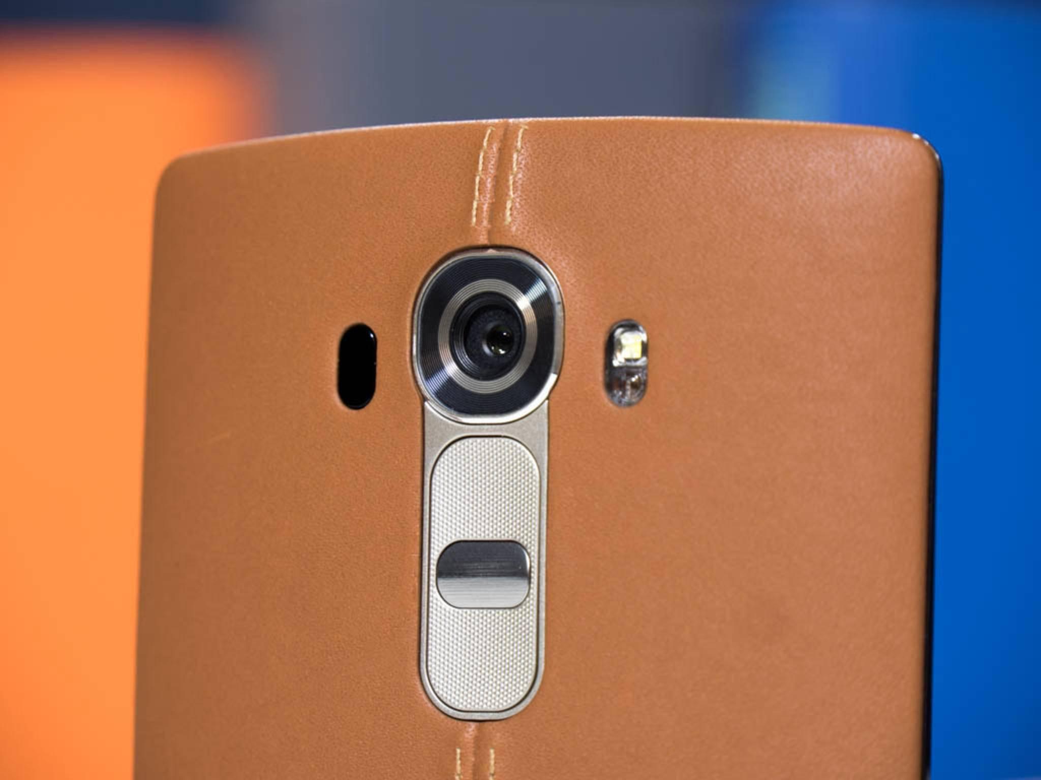 Das erst seit Kurzem erhältliche LG G4 bringt eine 16-Megapixel-Rückkamera mit.