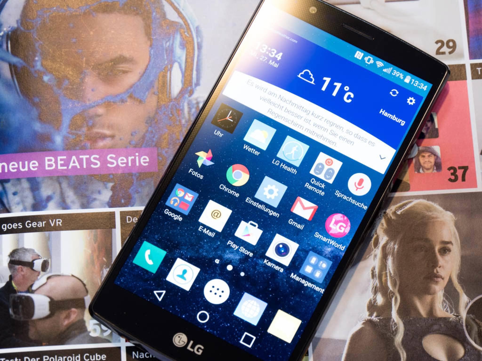Das LG G4 bekommt als erstes Android 6.0 Marshmallow.