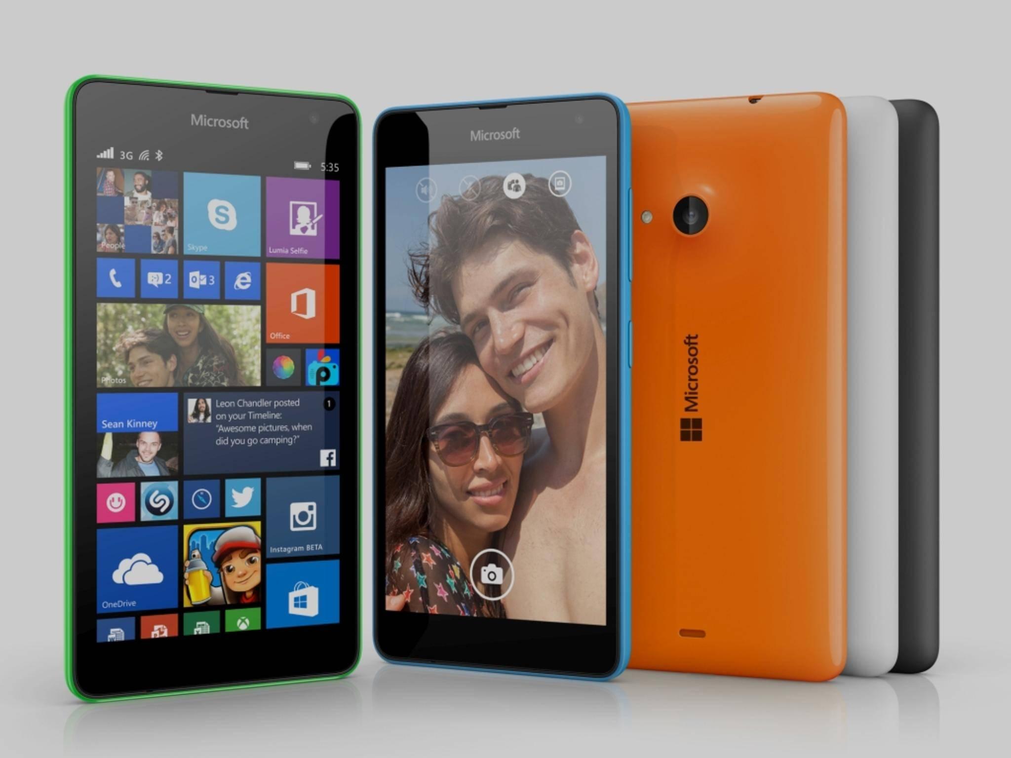 Das Lumia 535 bekommt als erstes Windows 10 Mobile.