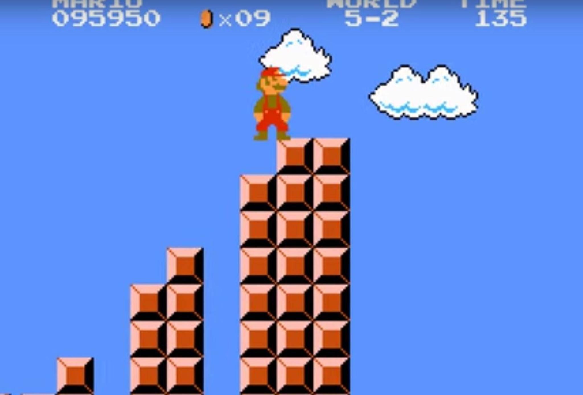 """So sah """"Super Mario"""" 1985 aus."""
