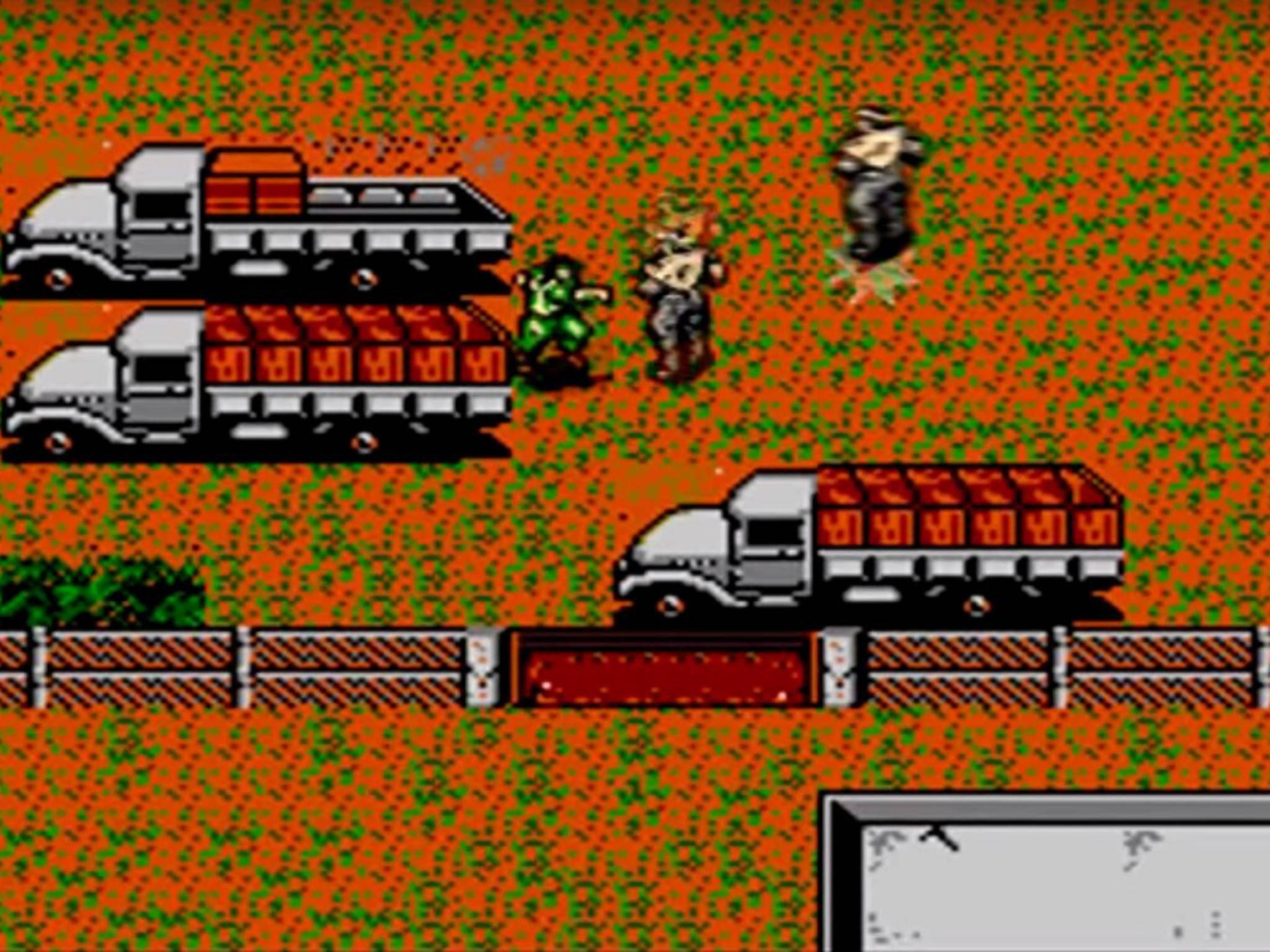"1987 startete Solid Snake seinen Feldzug in ""Metal Gear""."