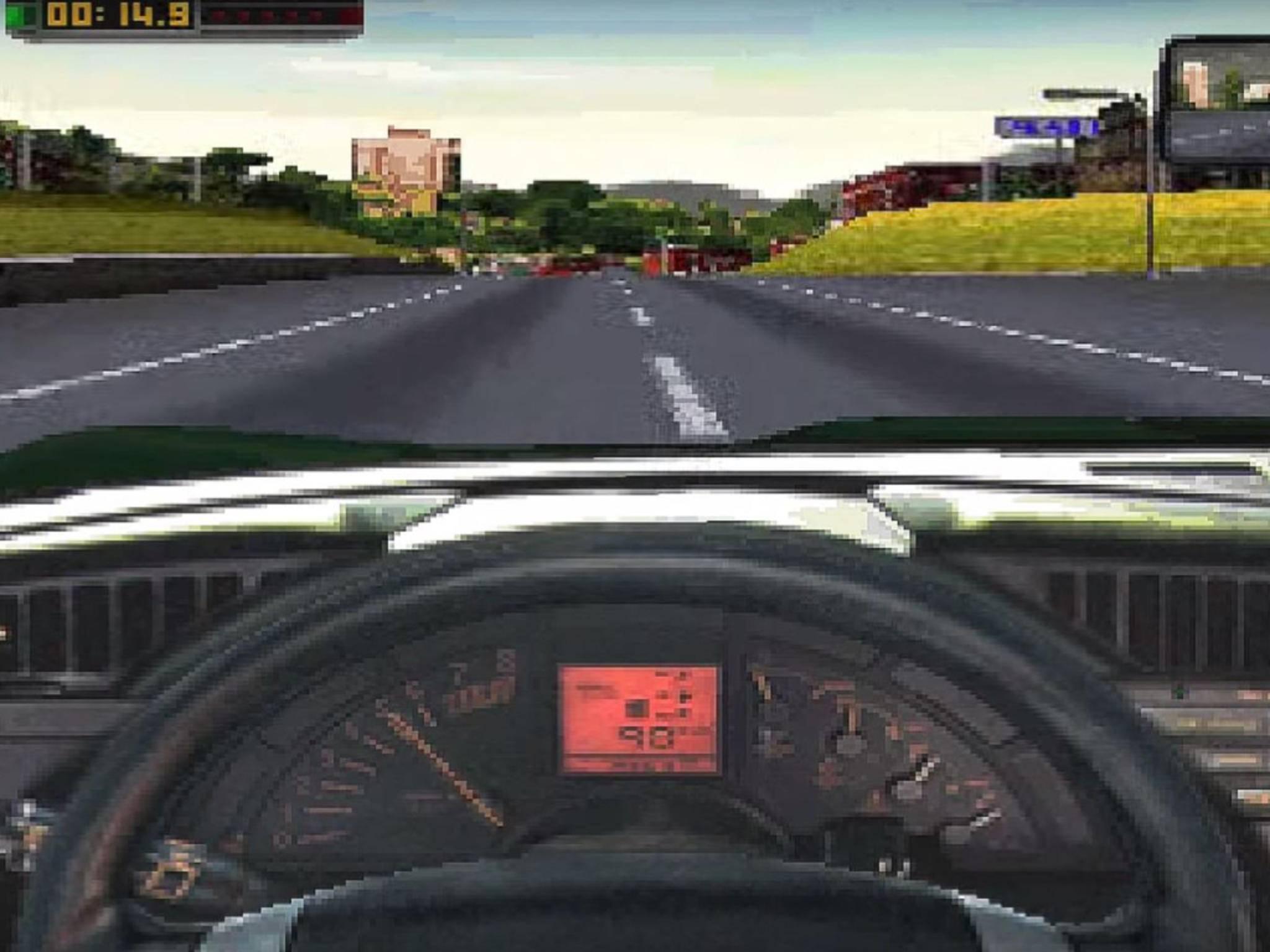 """Schon das erste """"Need for Speed"""" setzte auf wilde Verfolgungsjagden."""