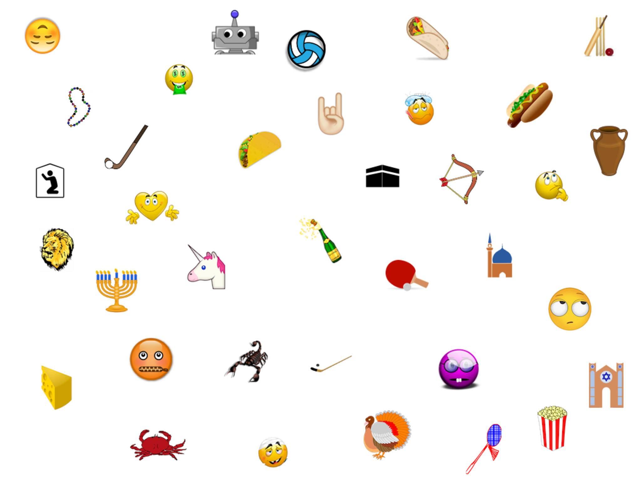 Diese neuen Emojis sind Teil von Unicode 8.0.
