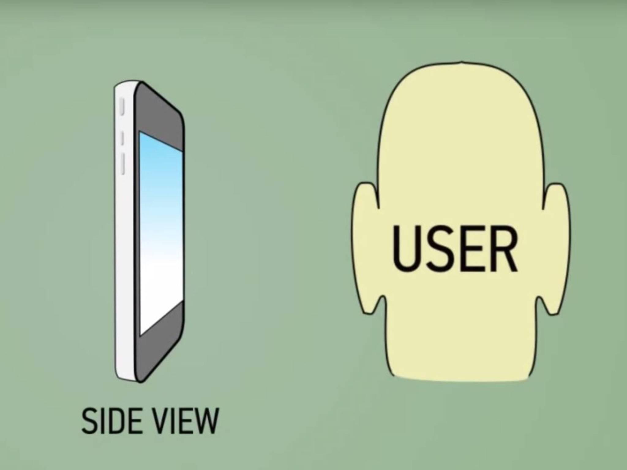 Scannen Smartphones künftig Ohren statt Finger?