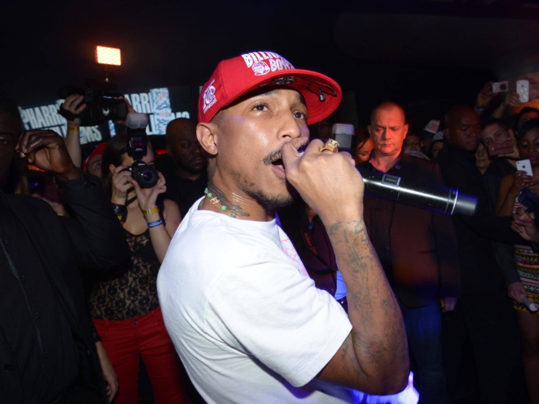 Den neuen Song von Pharrell Williams gibt's exklusiv bei Apple Music.