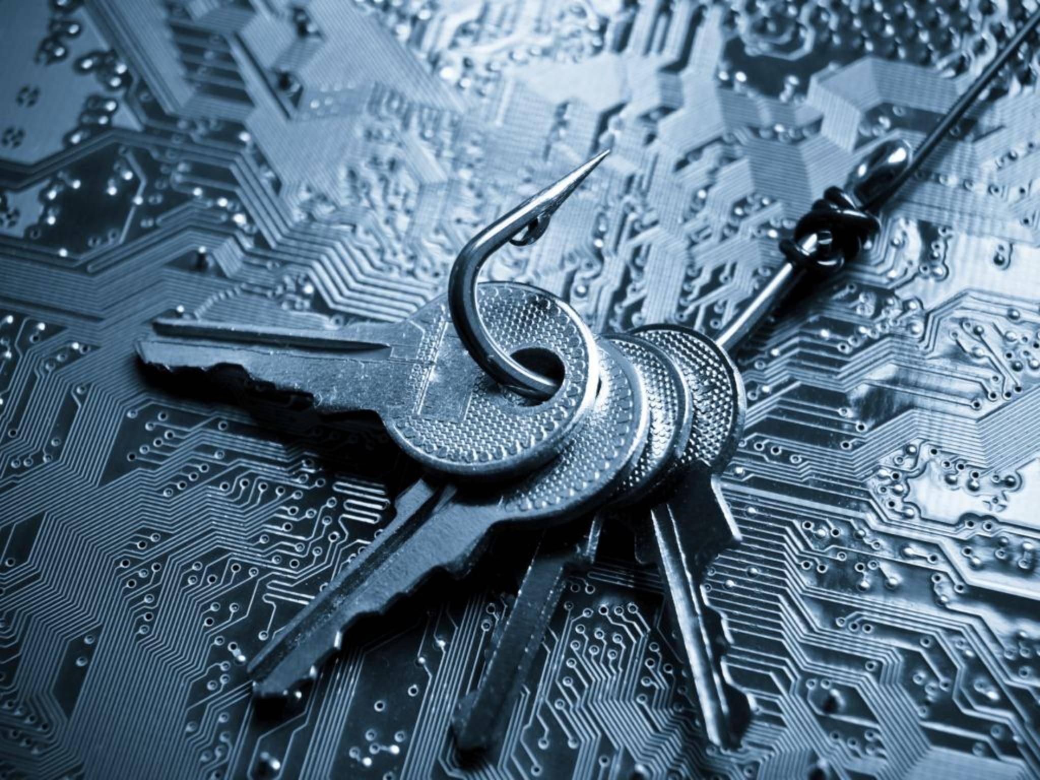 Phishing-Betrüger versuchen, an Passwörter, PINs und Co. zu kommen.