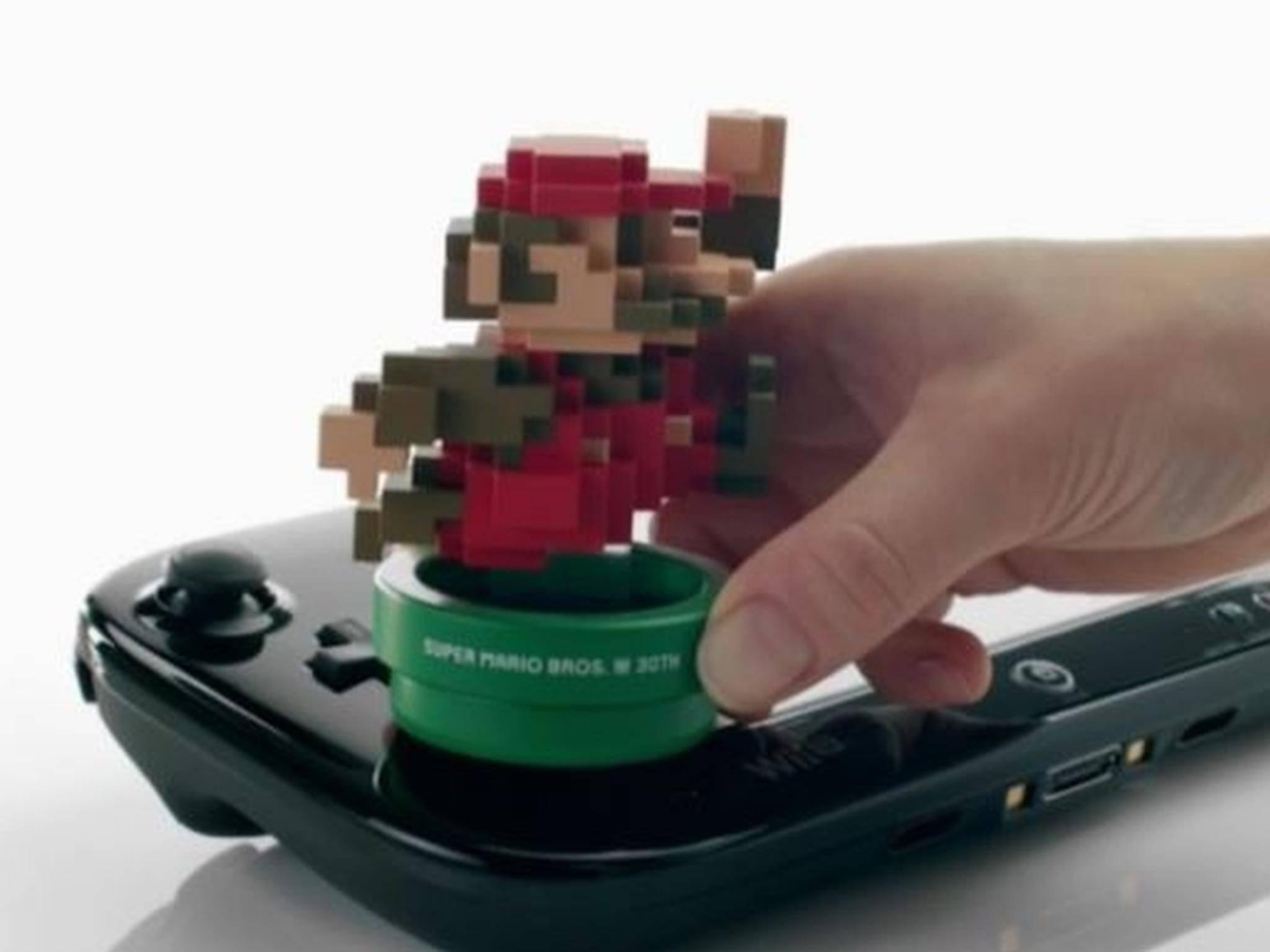 Pixel Mario Amiibo