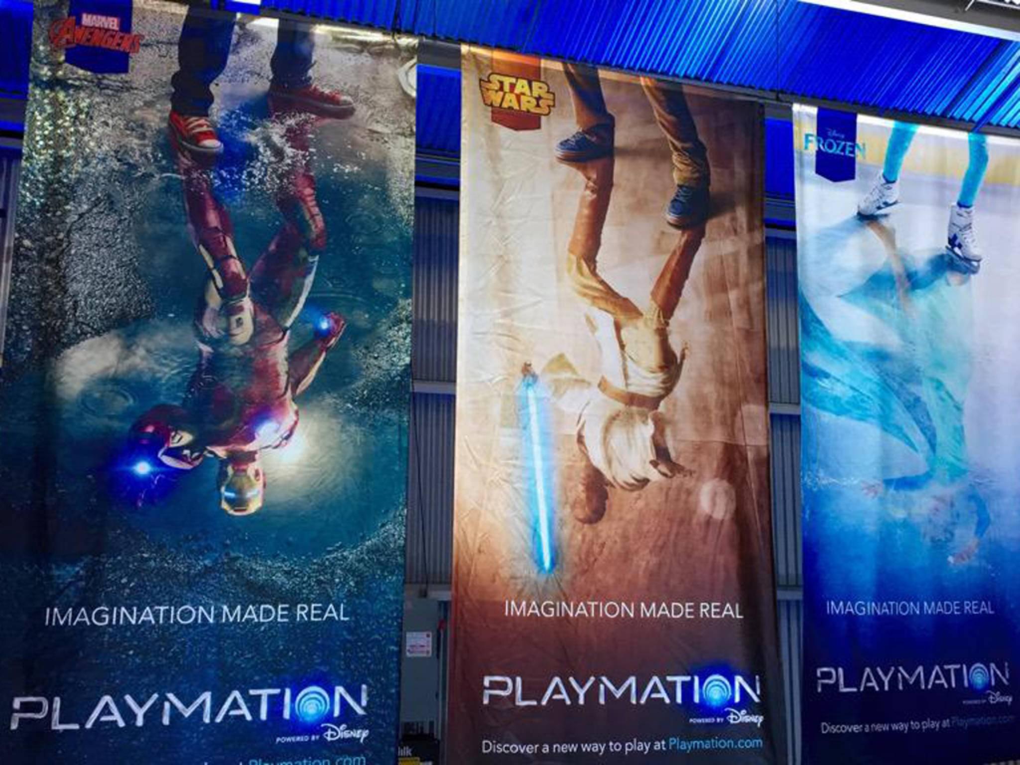 Mit Playmation soll der Spieler zum Action-Helden werden.