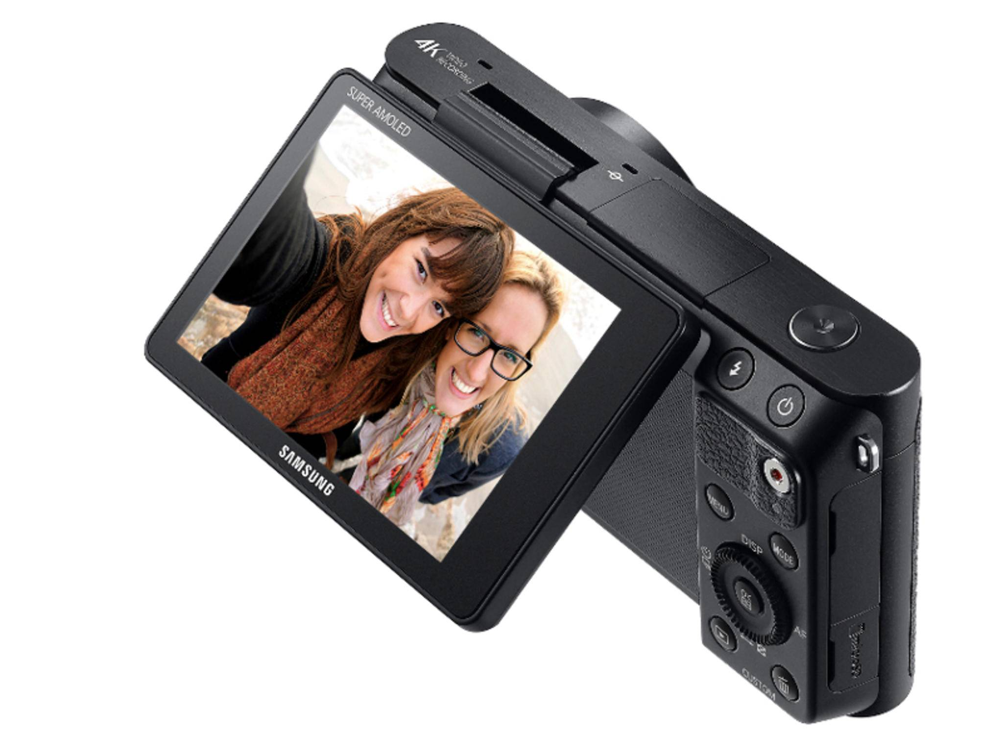 Die Samsung NX Mini 2 soll 4K-Aufnahmen machen können.