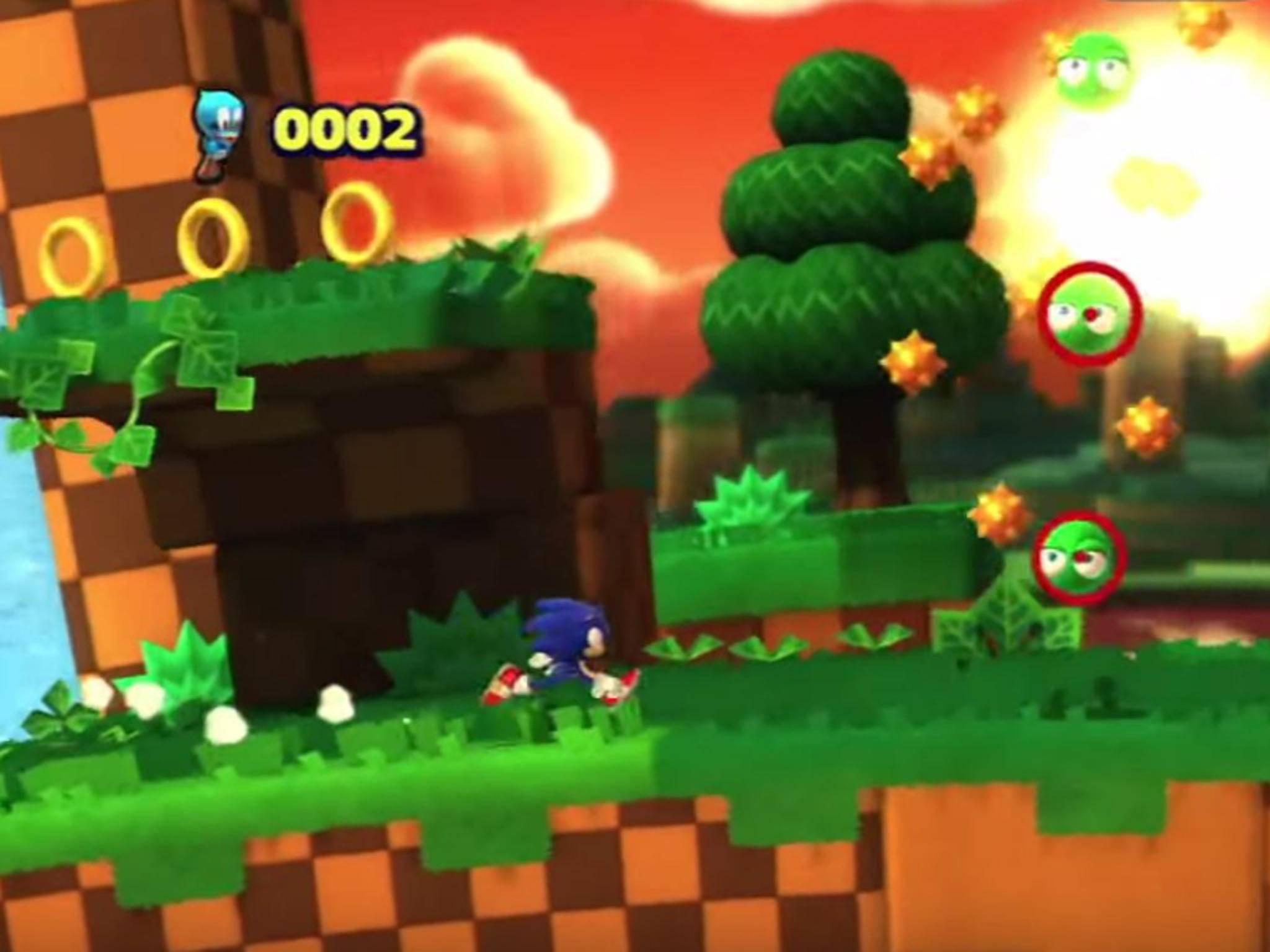 """Einige jüngere Ableger der Serie wie """"Sonic Lost World"""" gehen Back to the Roots."""