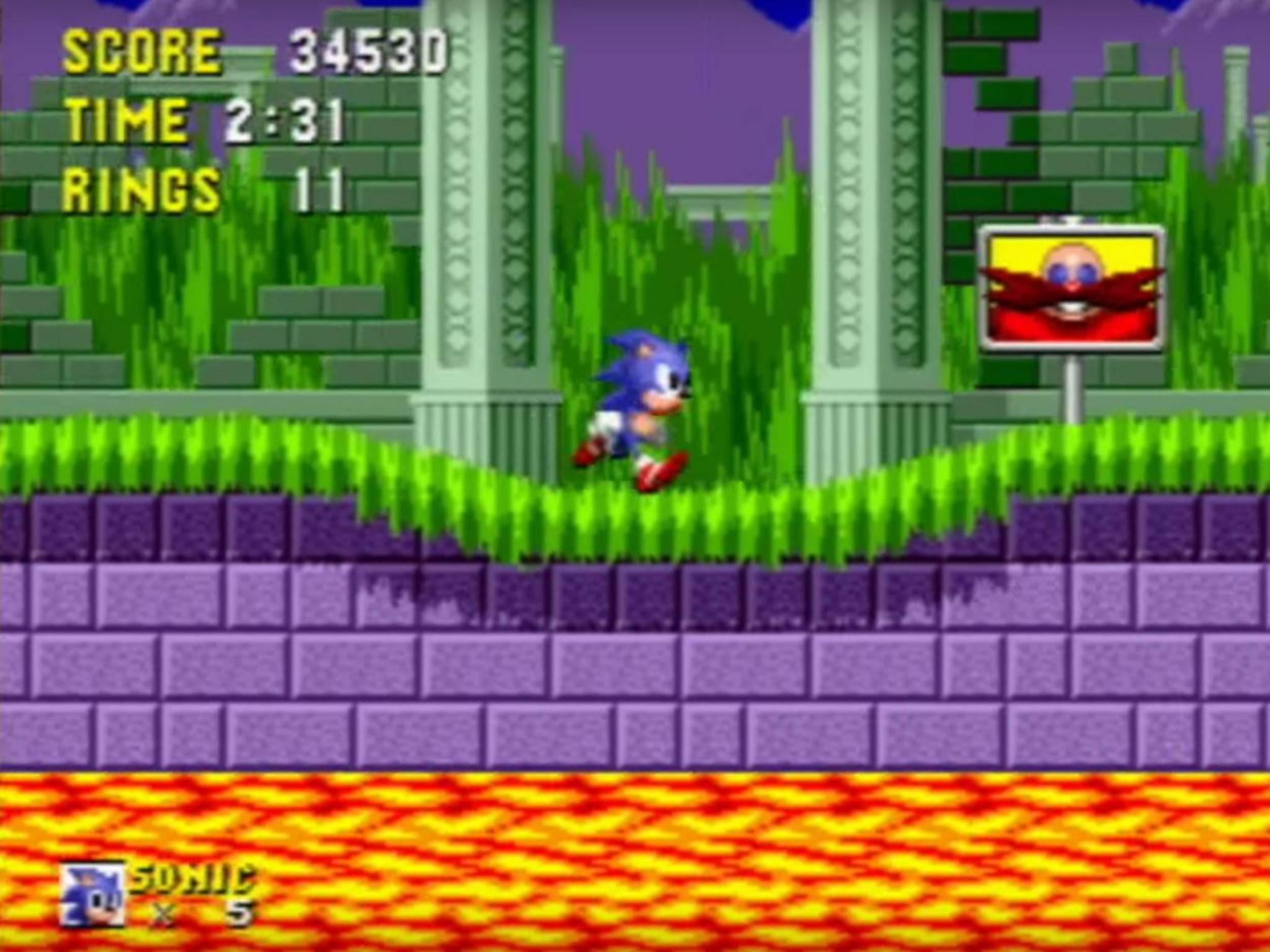 """Sonic the Hedgehog"" versetzte Sega-Fans 1991 in Verzückung."