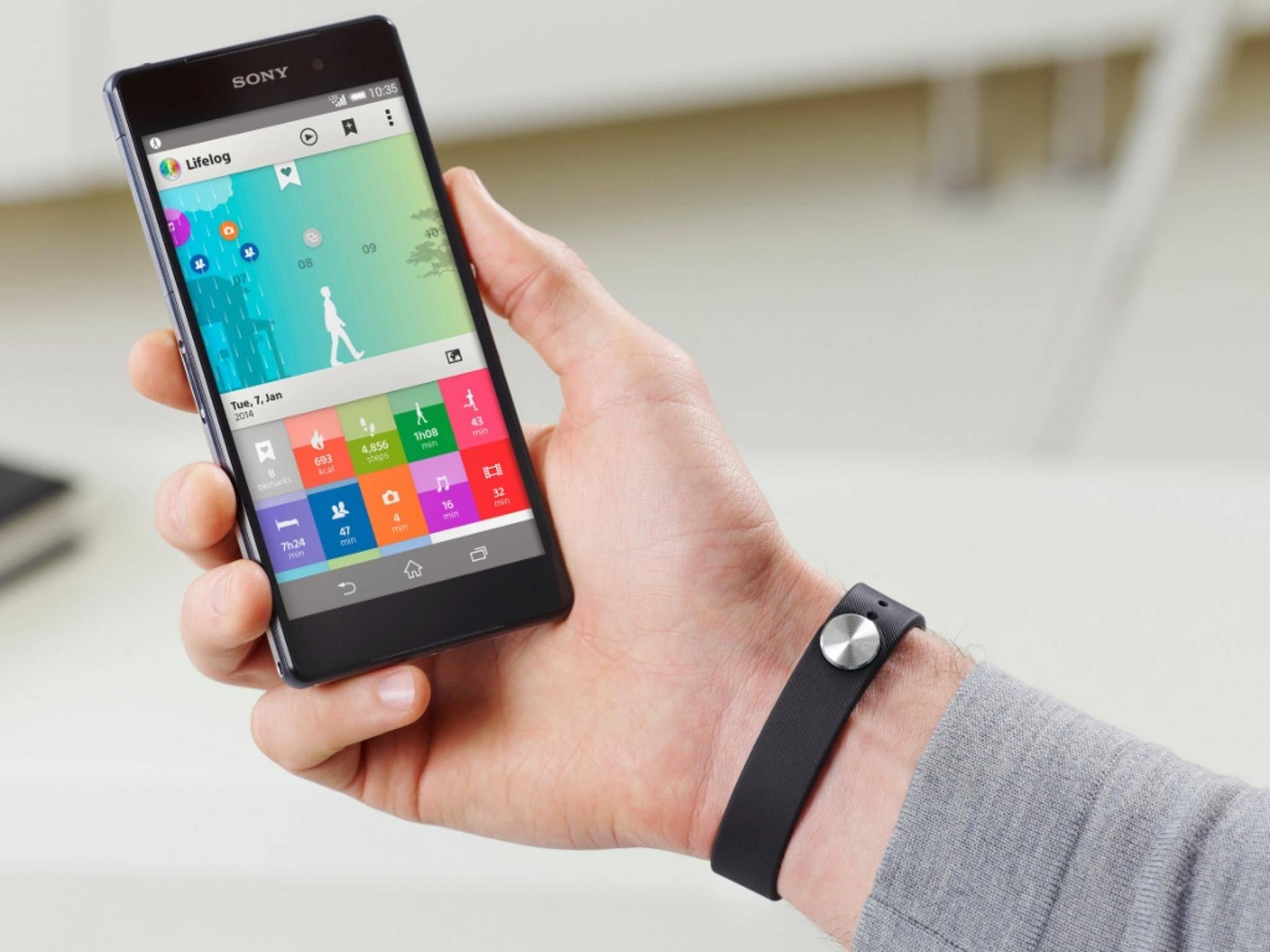 Offenbar dürfte schon in Kürze ein Nachfolger des Sony SmartBand erscheinen.