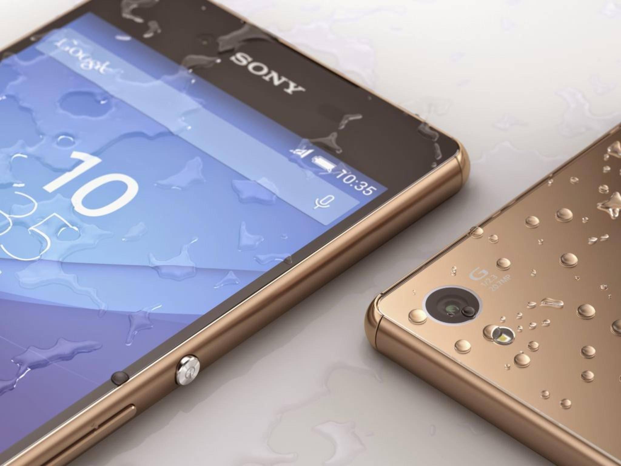 Das Sony Xperia Z3+ gilt als heißer Kandidat für ein Update.