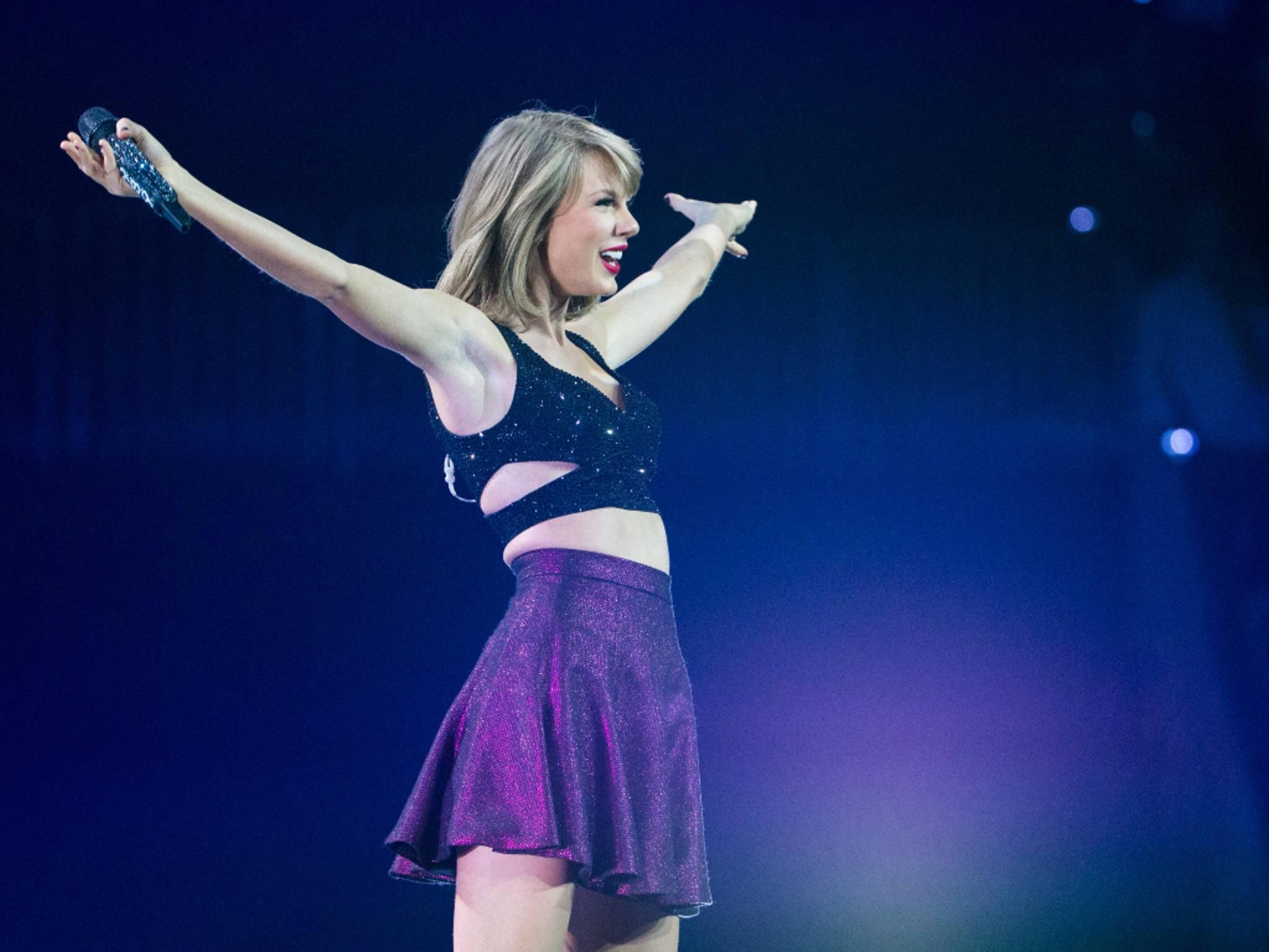 Steht in Sachen Einnahmen ganz oben: Popstar Taylor Swift.