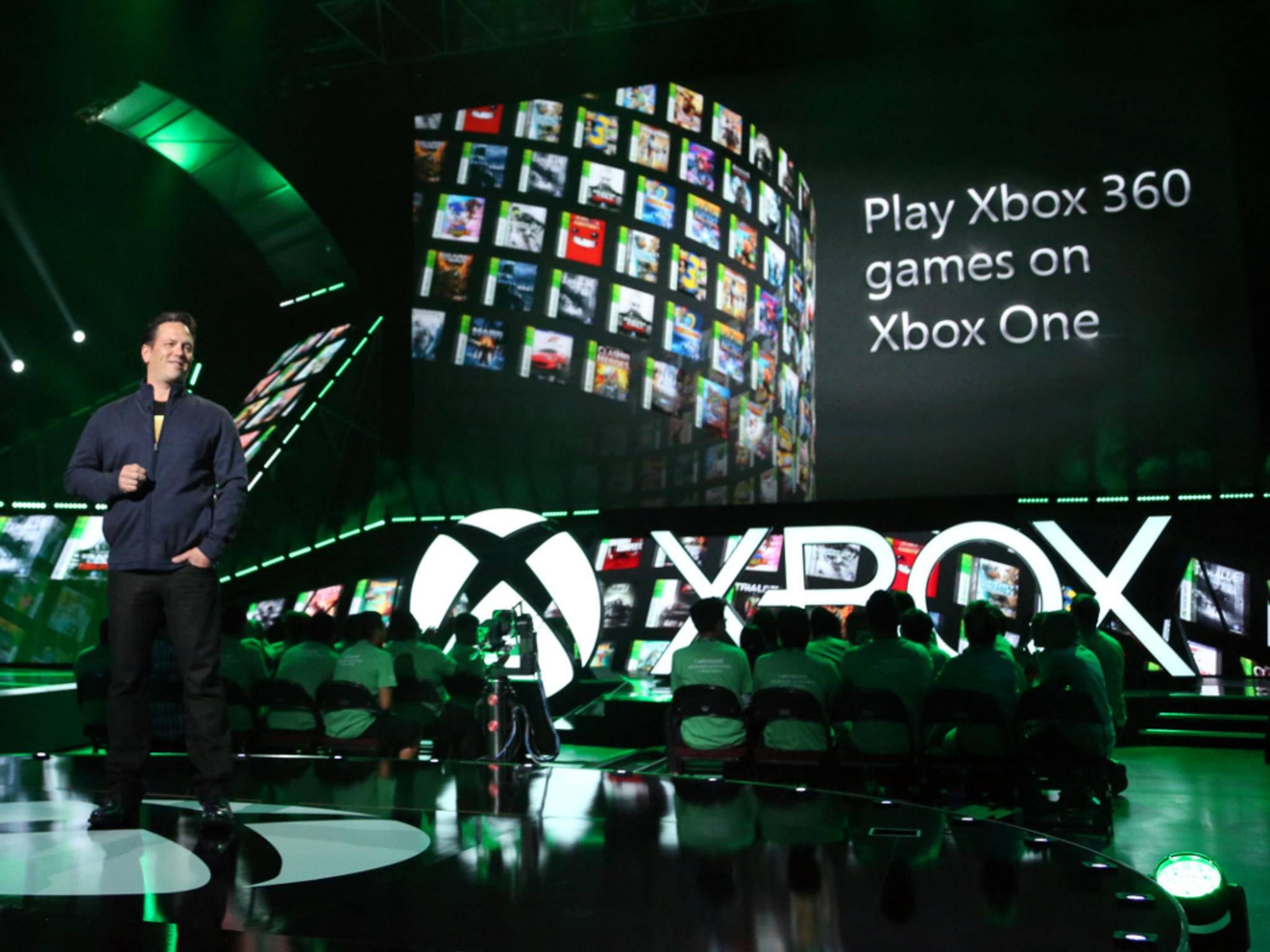 Phil Spencer kündigte an, dass die Xbox One abwärtskompatibel wird.