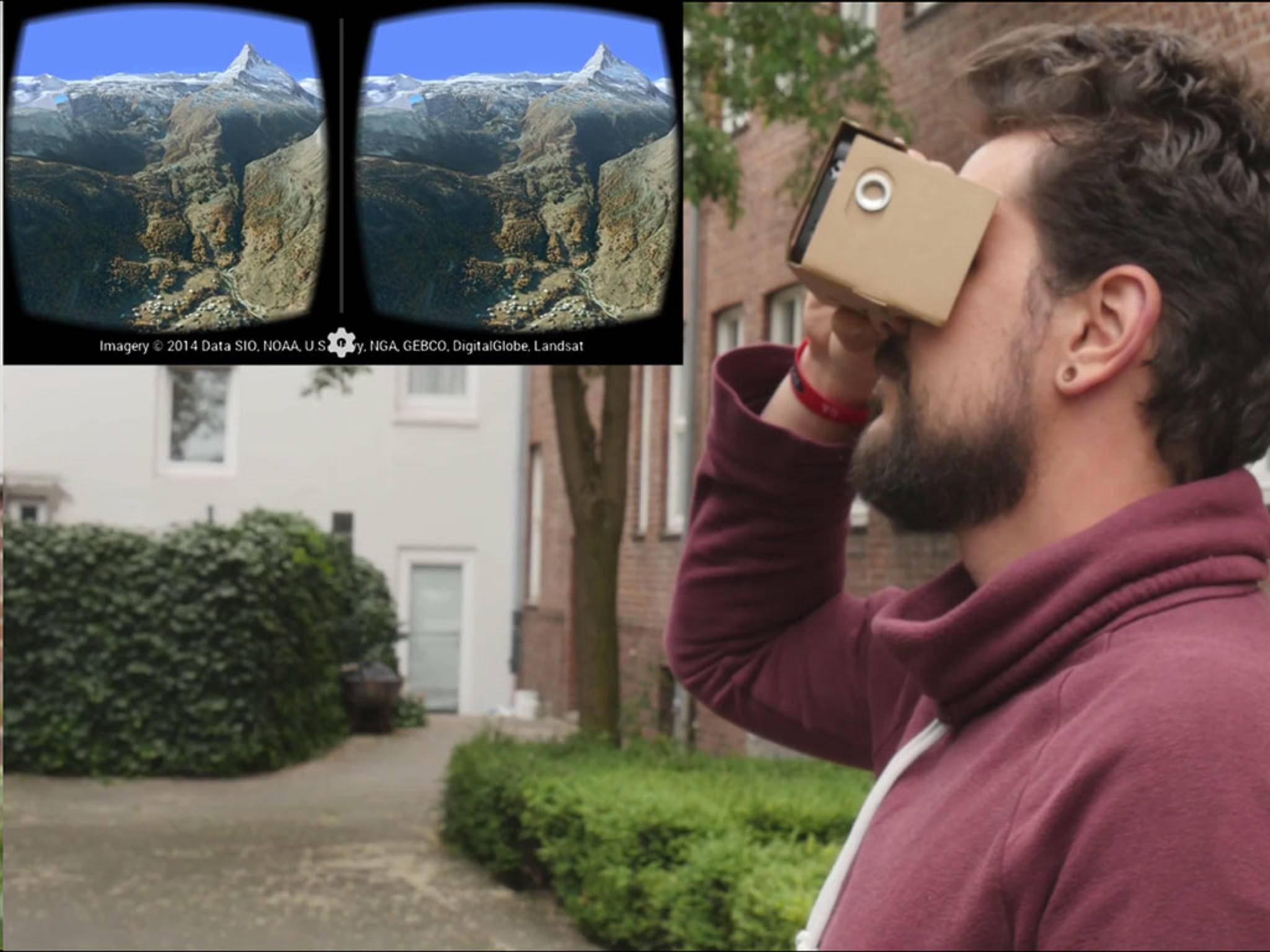 Mit dem alten Smartphone in virtuelle Realitäten eintauchen.