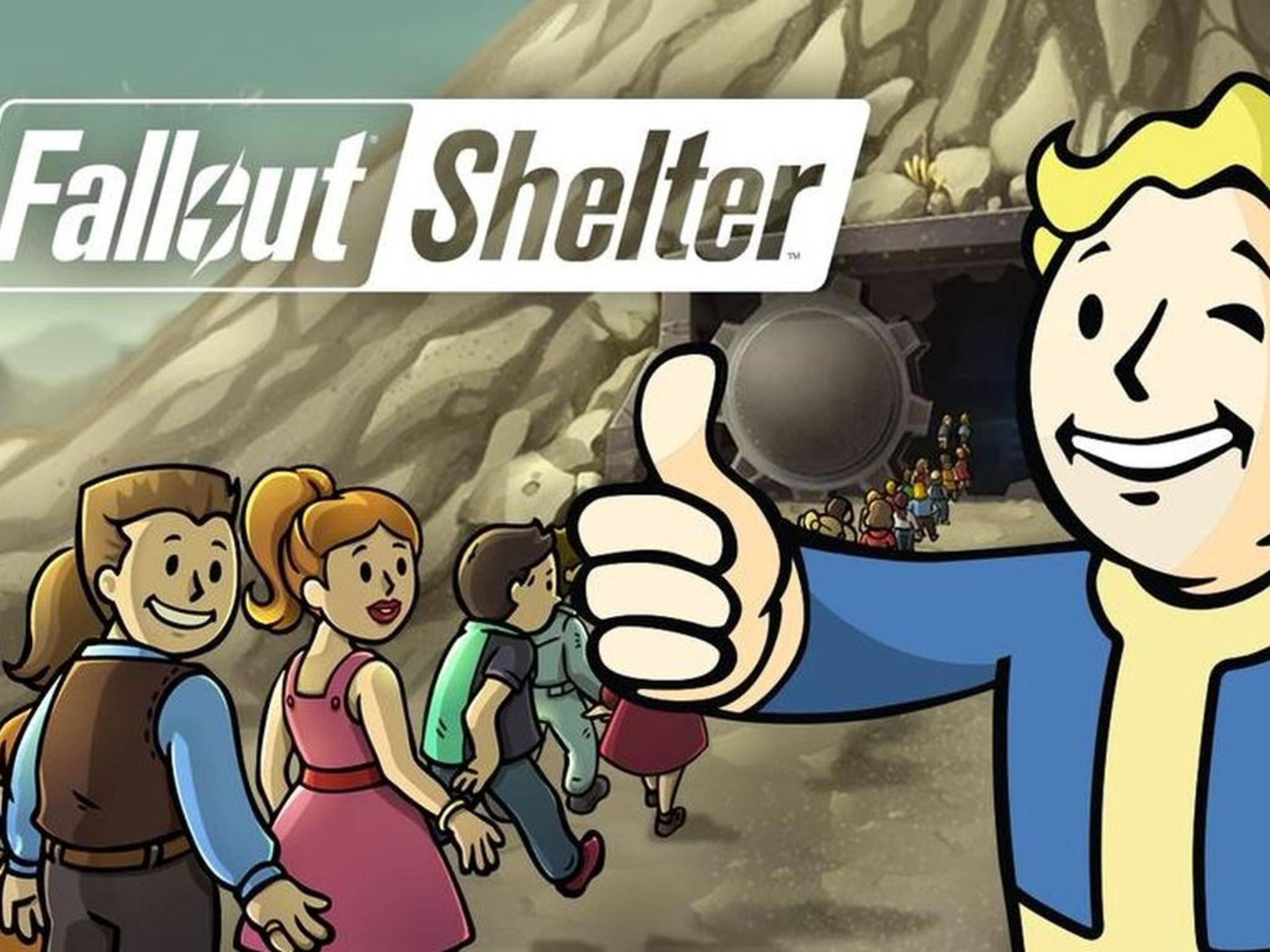 """Das Warte hat ein Ende: """"Fallout Shelter"""" kommt für Android."""