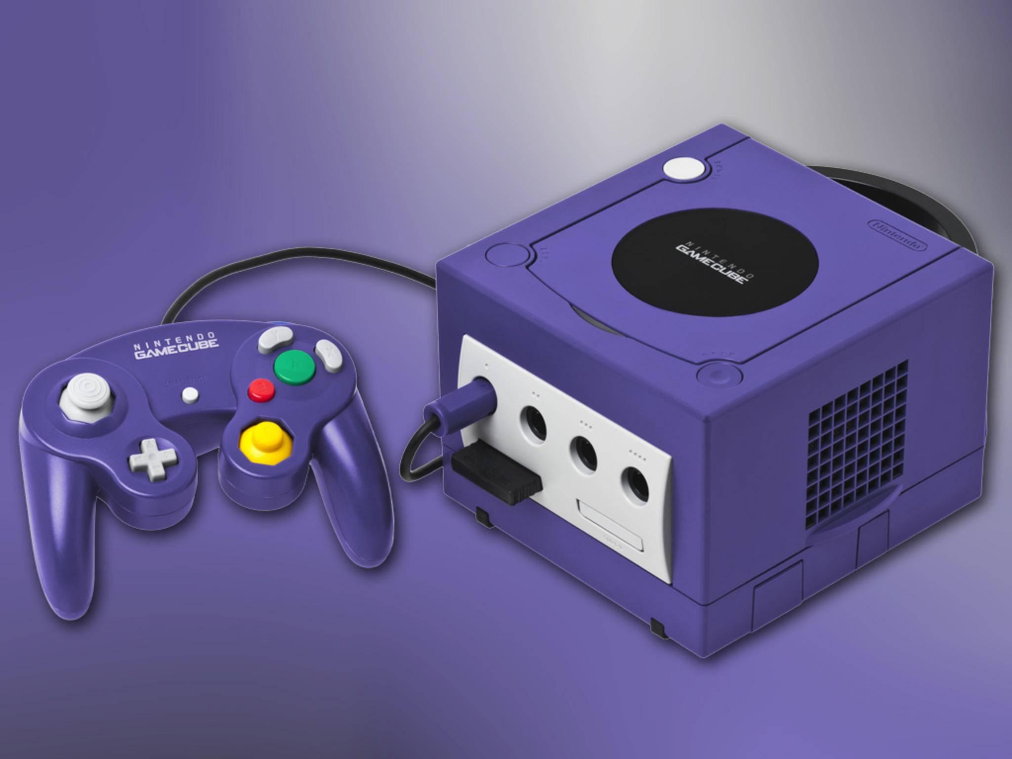 Ebenso der Nintendo GameCube.