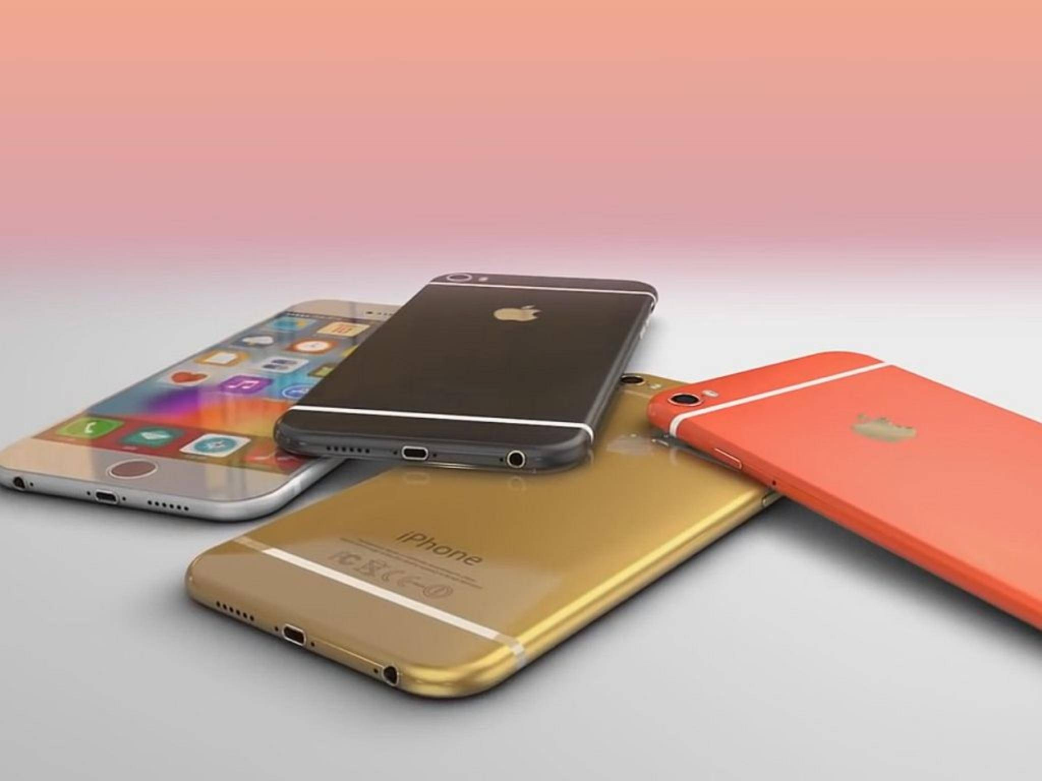 Ab dem 11. September kann man sich das iPhone 6s wohl sichern - aber wirklich in vielen bunten Farben?