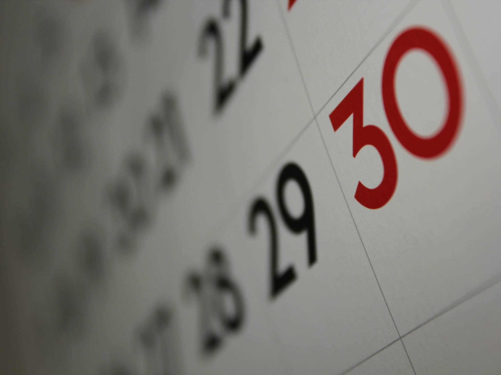 Den Kalender überträgt man mit Hilfe der iCloud.