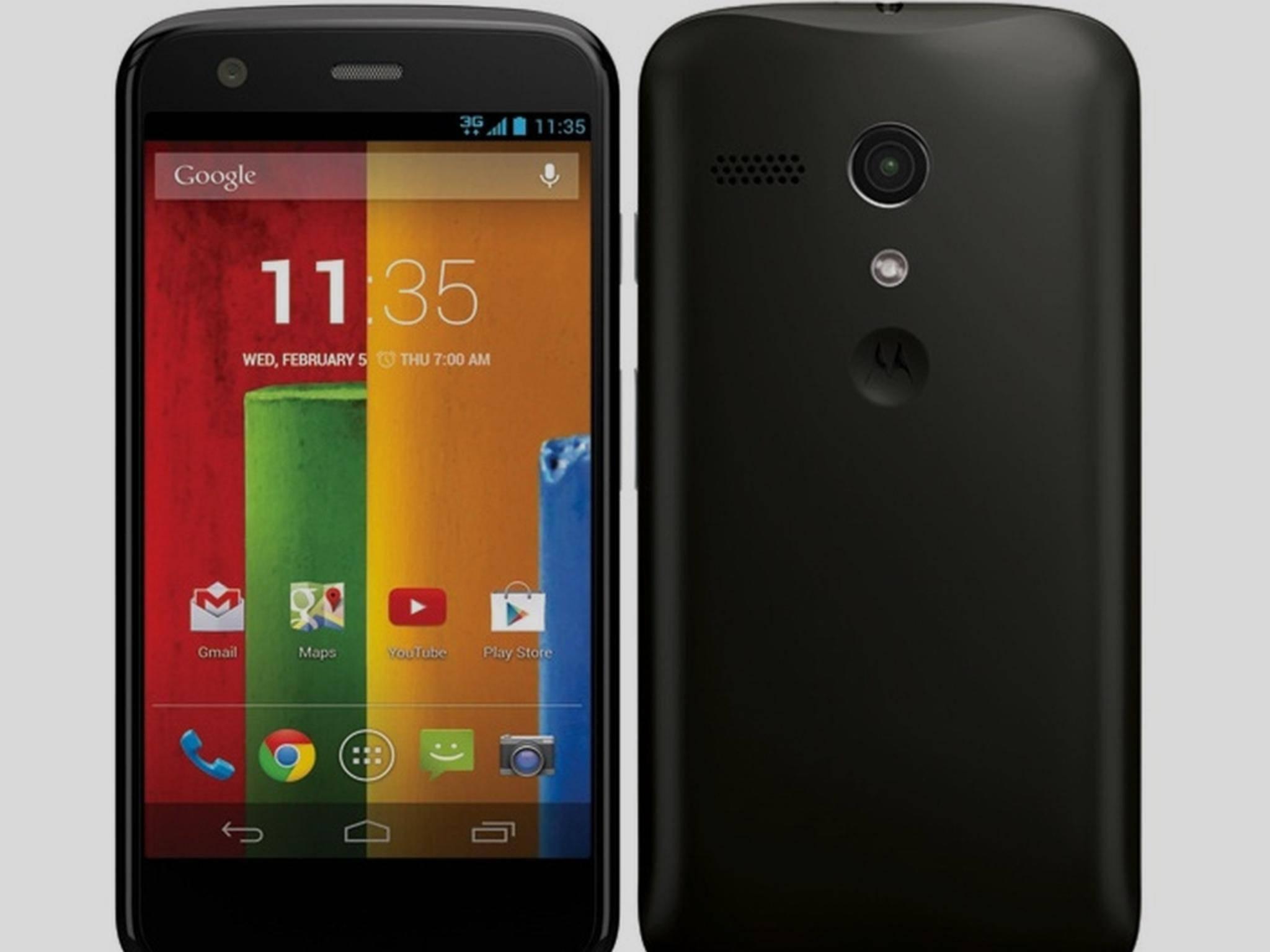 Motorola Moto G (2. Generation): Nachfolger noch in diesem Jahr erwartet.