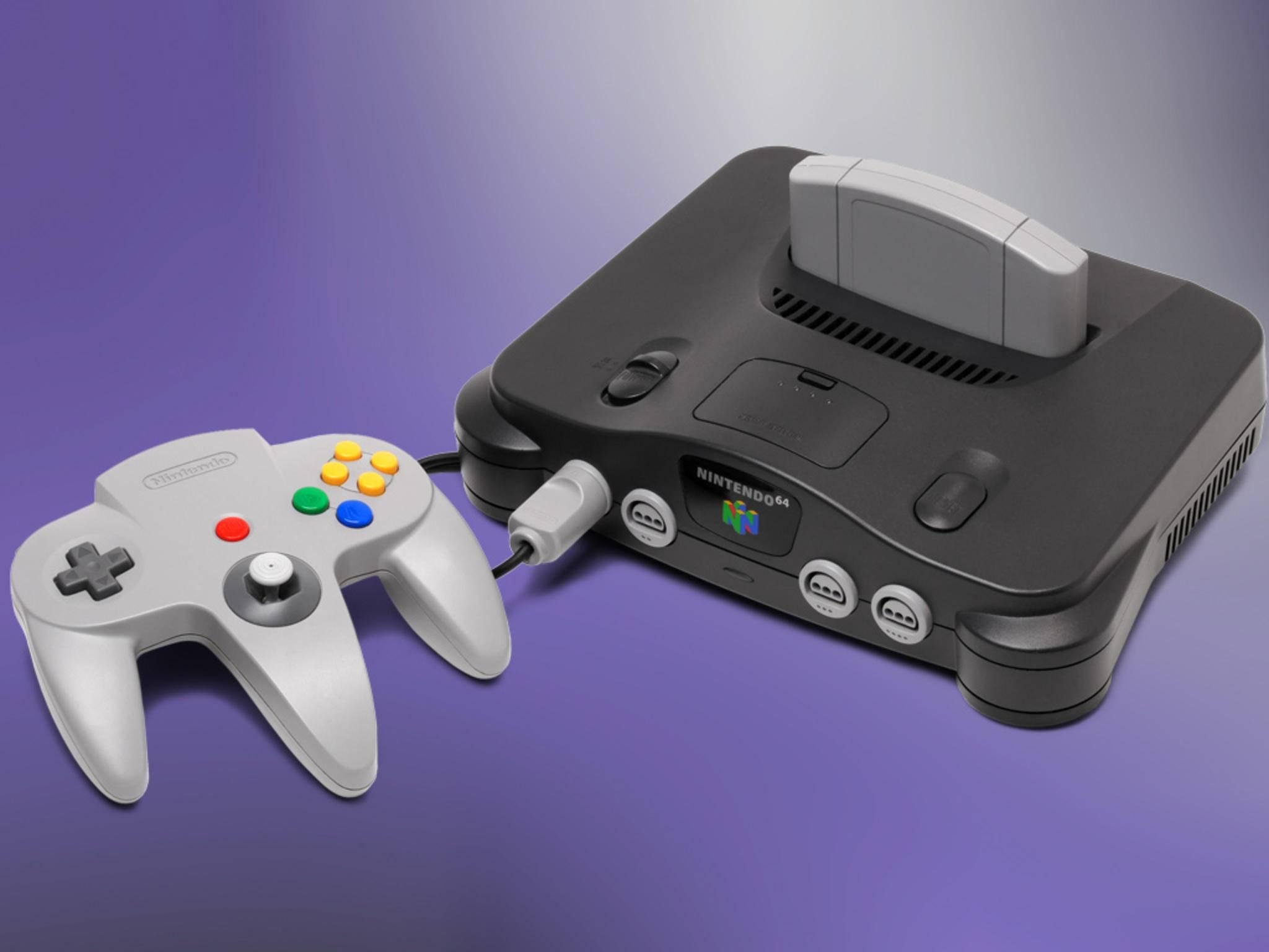 "Nintendo-Konsolen wie die N64 waren schon immer etwas ""knubbelig""."