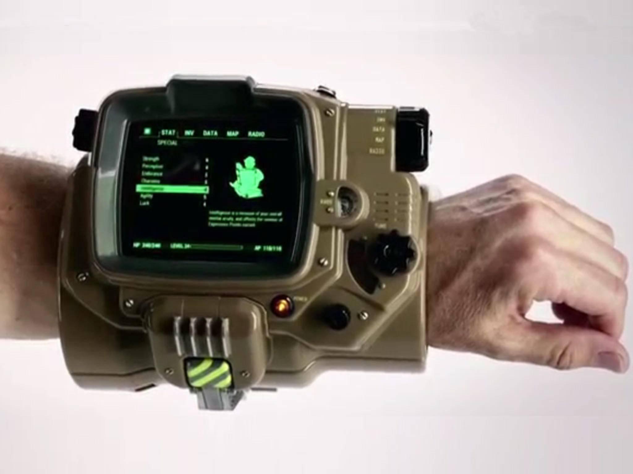 Pip-Boy am Handgelenk: Die Companion-App für Fallout 4 ist erschienen.