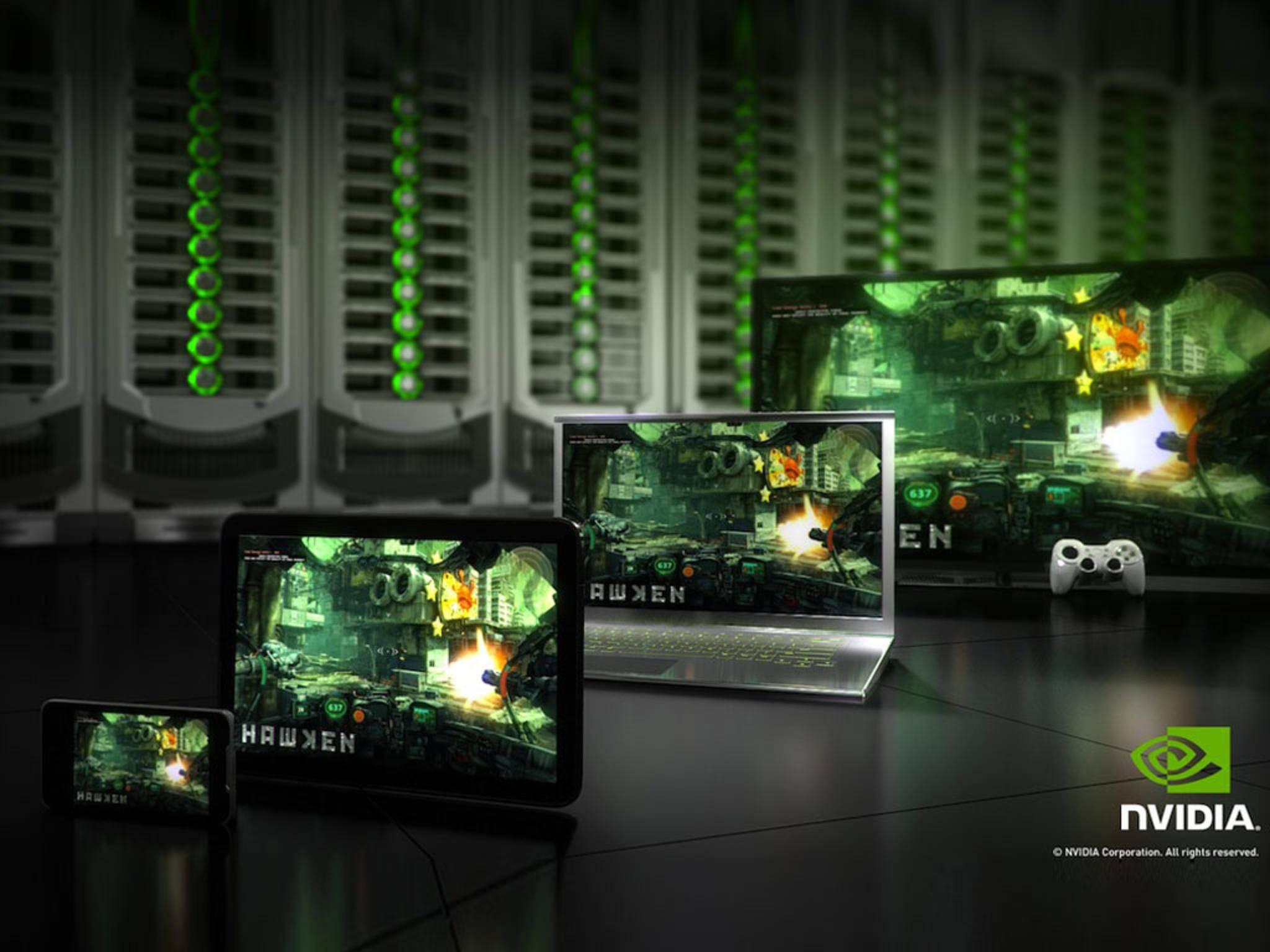 Nvidia Grid: Das rechenintensive Spielen übernehmen Server in der Cloud.