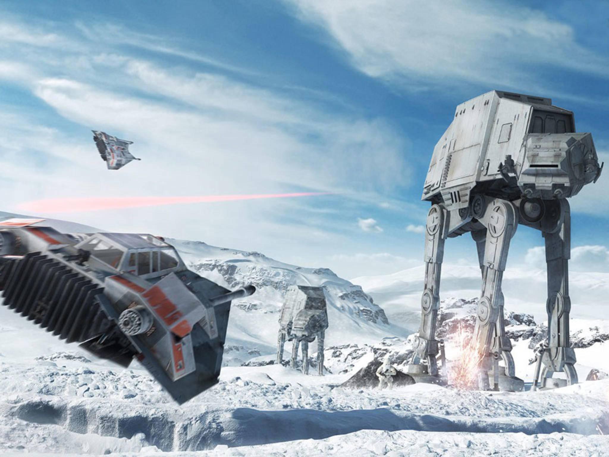"""""""Star Wars Battlefront""""bringt den Sternenkrieg auf PC und Konsole."""