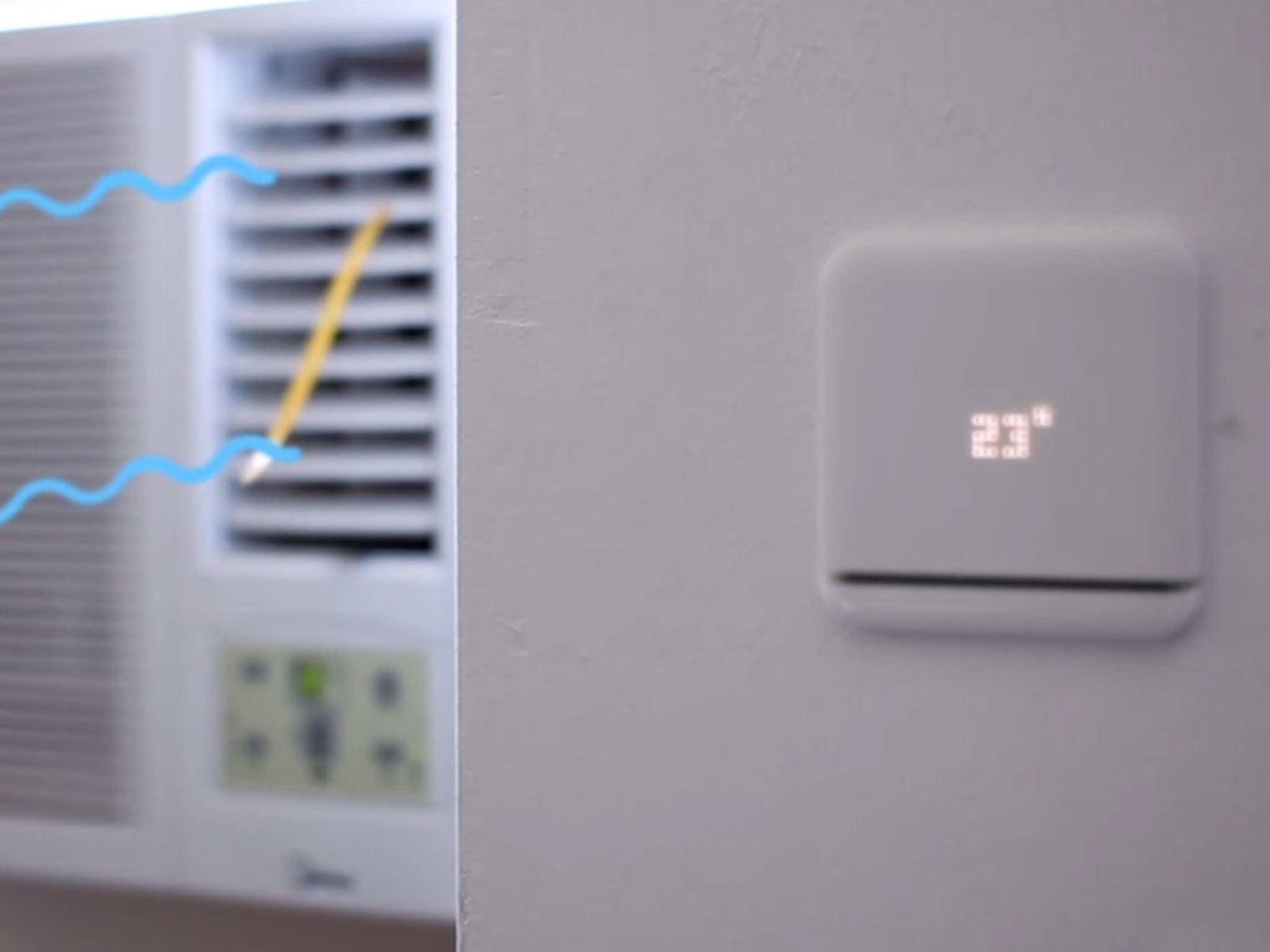 Mit dem Tado-Gerät lassen sich Klimaanlagen steuern.