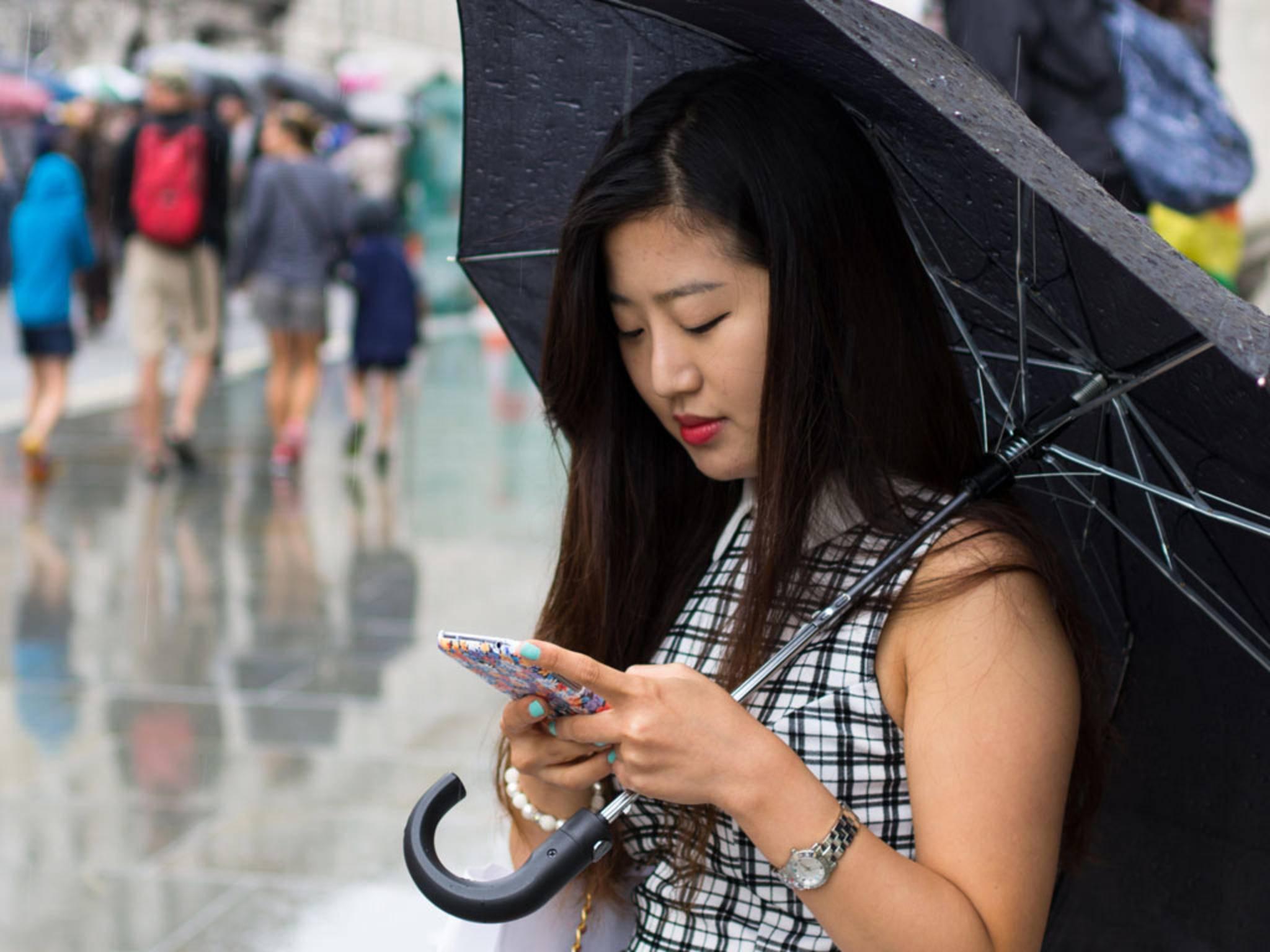 Mit dem neuen Patent von Apple gibt's eine Nachricht, wenn der Regen aufgehört hat.