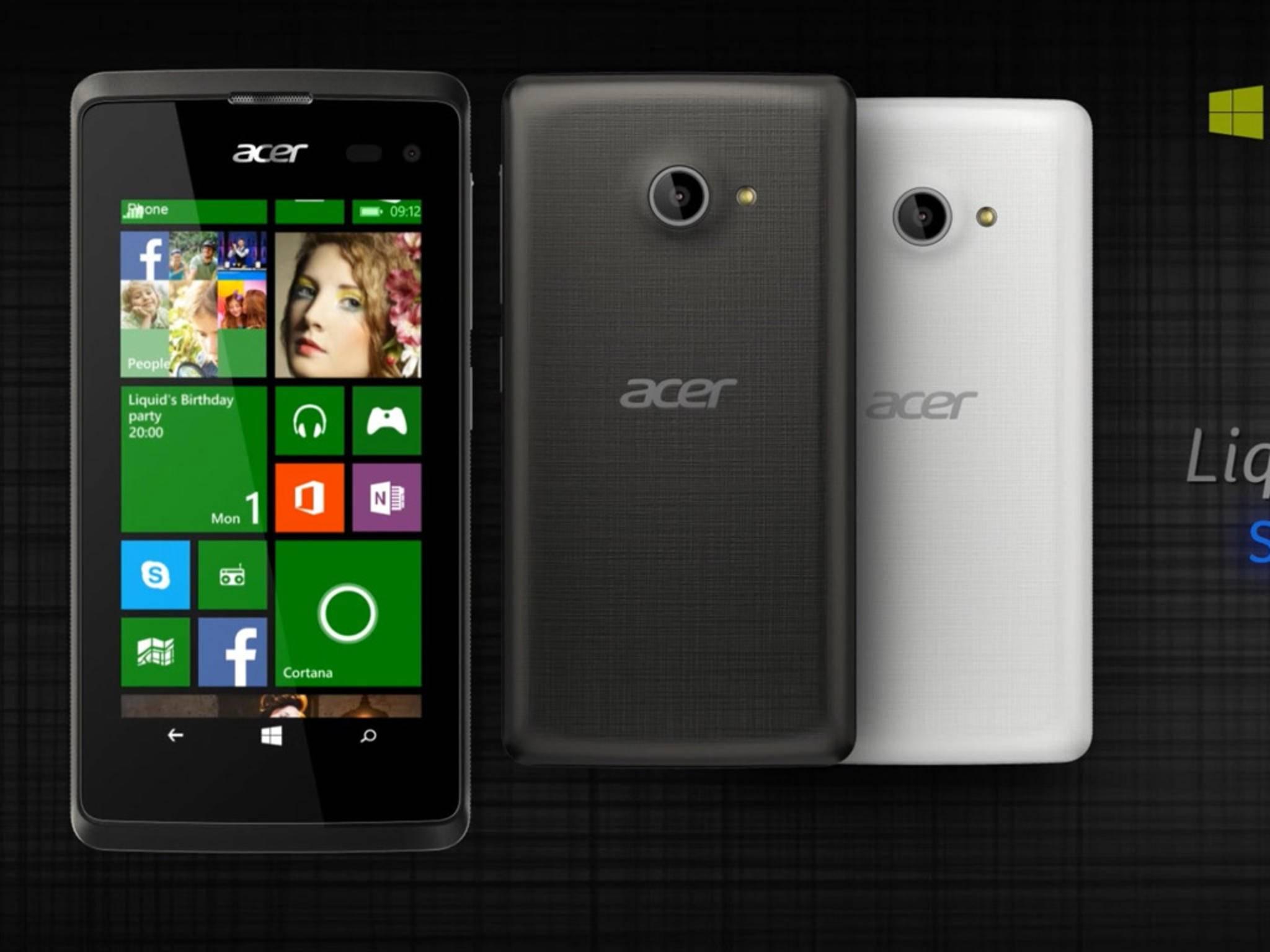 Acer will offenbar auf der IFA 2015 neue Smartphones mit Windows 10 vorstellen.