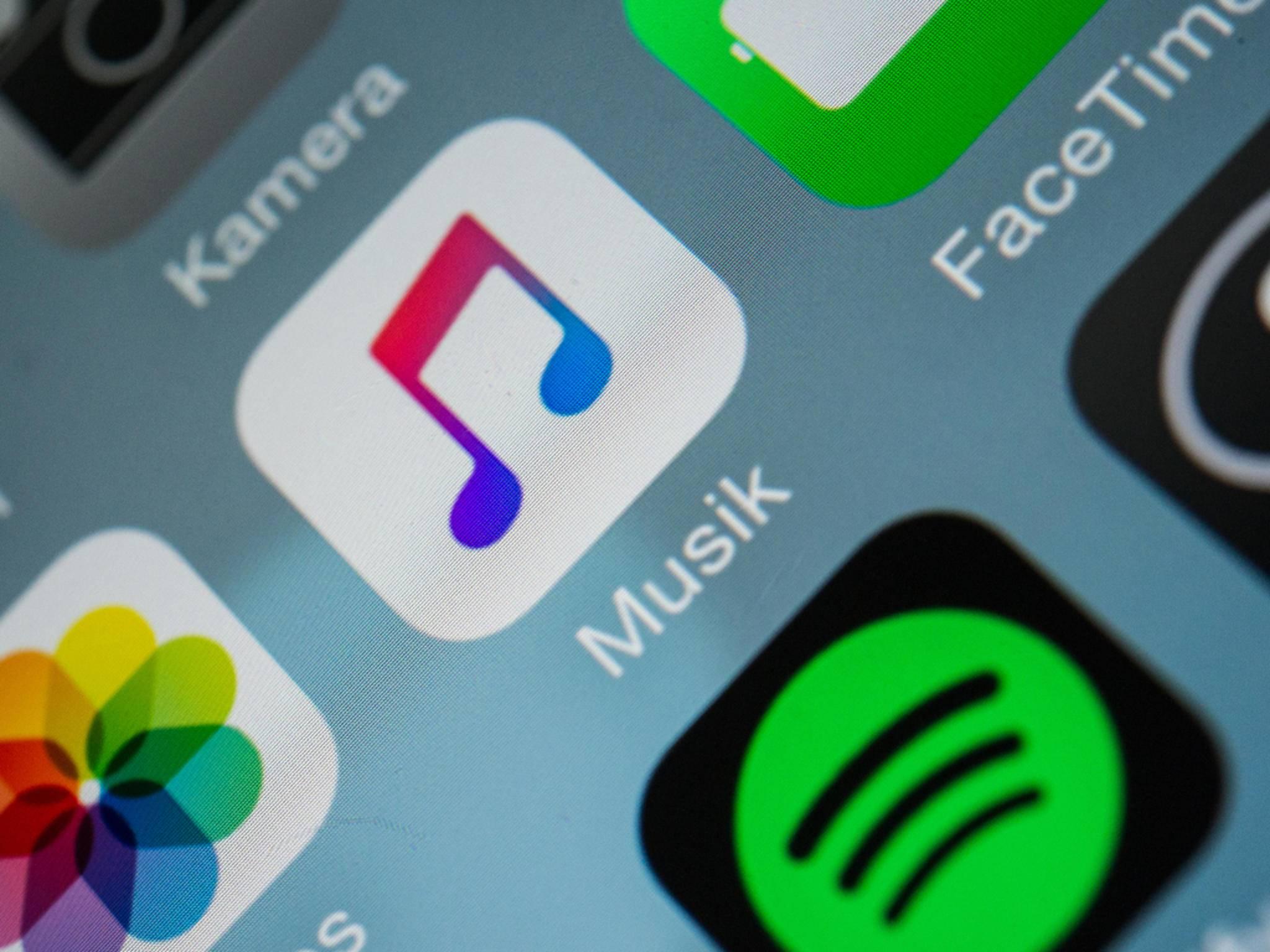 Apple Music sollte – ein Abo vorausgesetzt – auf keinem Homescreen fehlen.