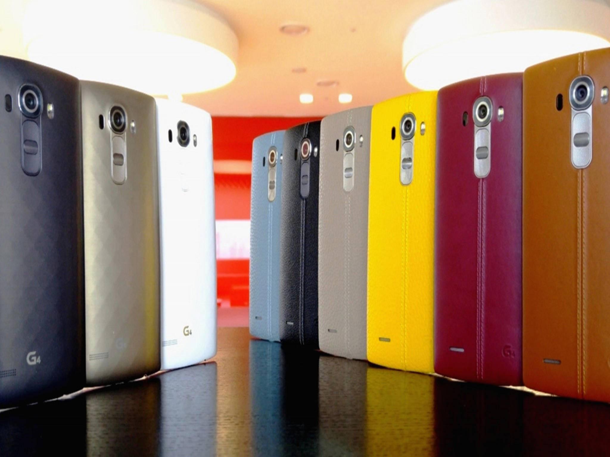 Die LG G4-Familie könnte bald Zuwachs bekommen: Das LG G4 Pro könnte noch 2015 erscheinen.
