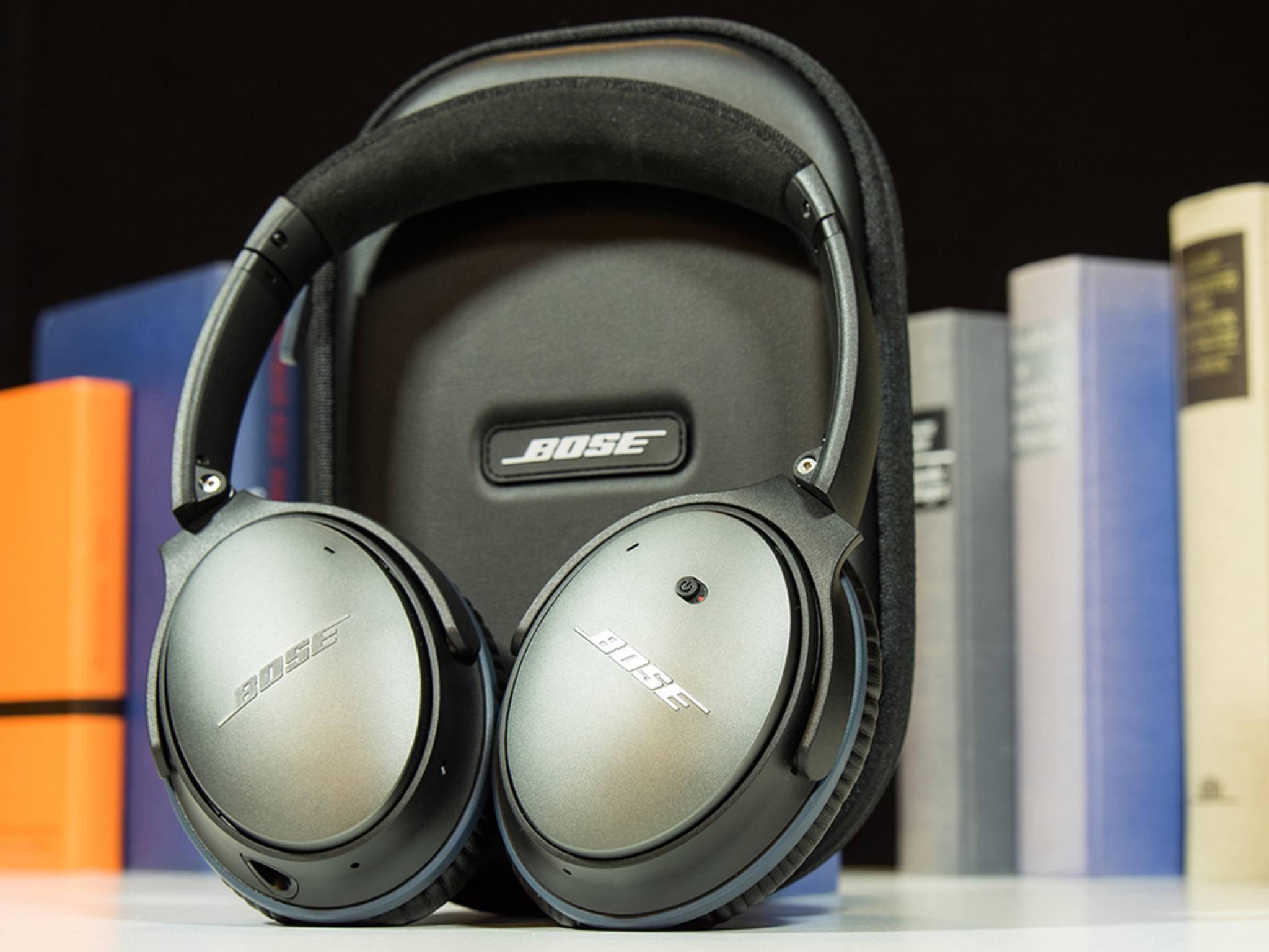 Der Bose QuietComfort 25 bietet sehr ausgewogenen Sound.