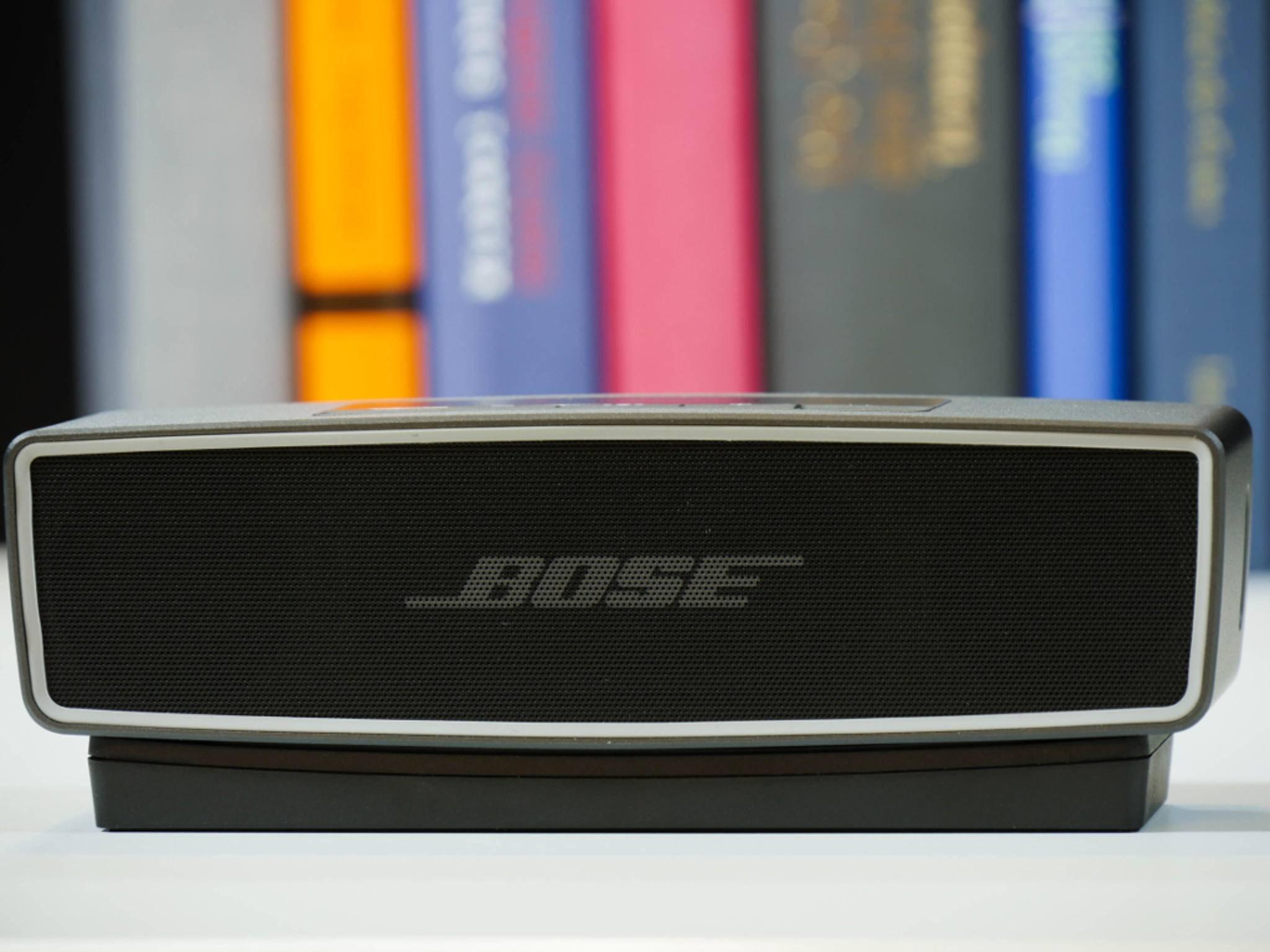 Die Bluetooth-Kopplung geht beim Bose SoundLink Mini II schnell und einfach vonstatten.