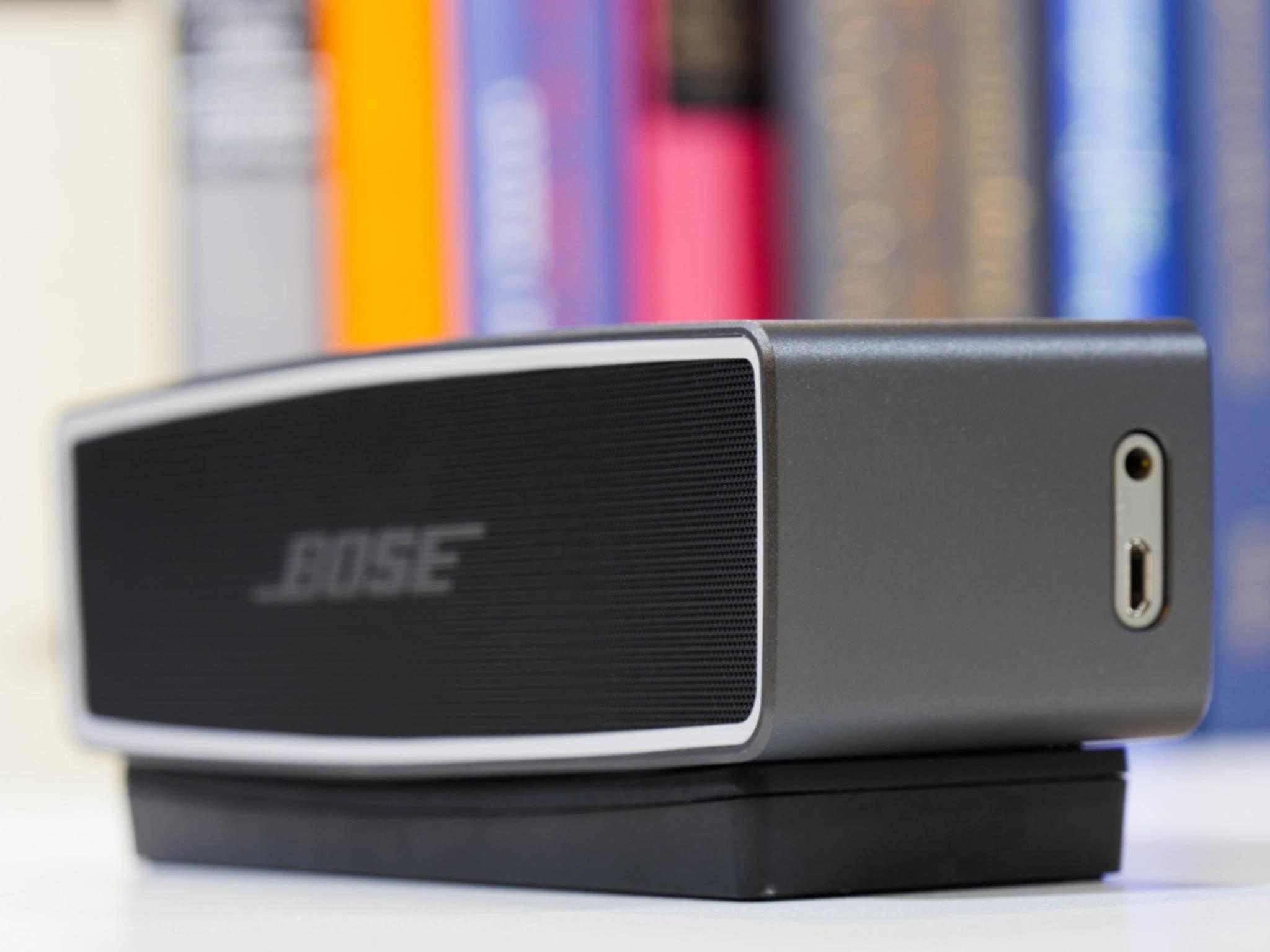 Der Bose SoundLink Mini II ist ein robuster Bluetooth-Lautsprecher.
