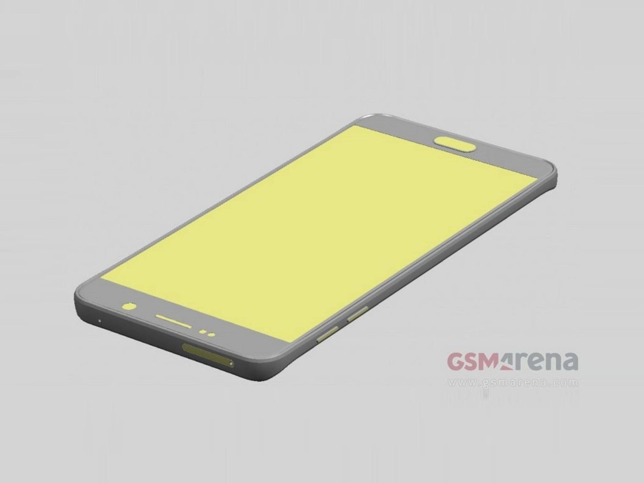 Render-Bilder eines Case-Herstellers enthüllen die Abmessungen von Galaxy Note 5.
