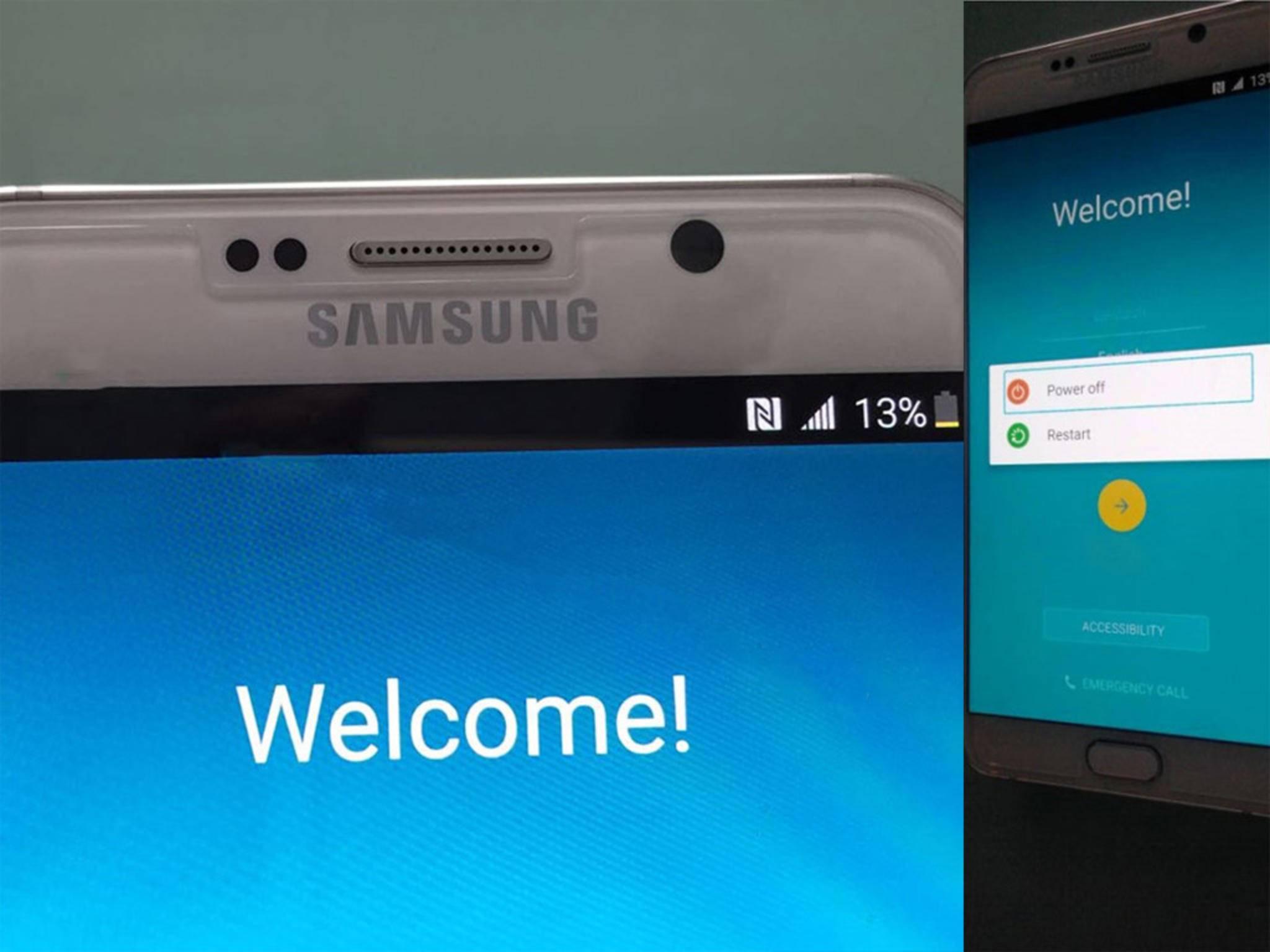 Galaxy Note 5 Leak