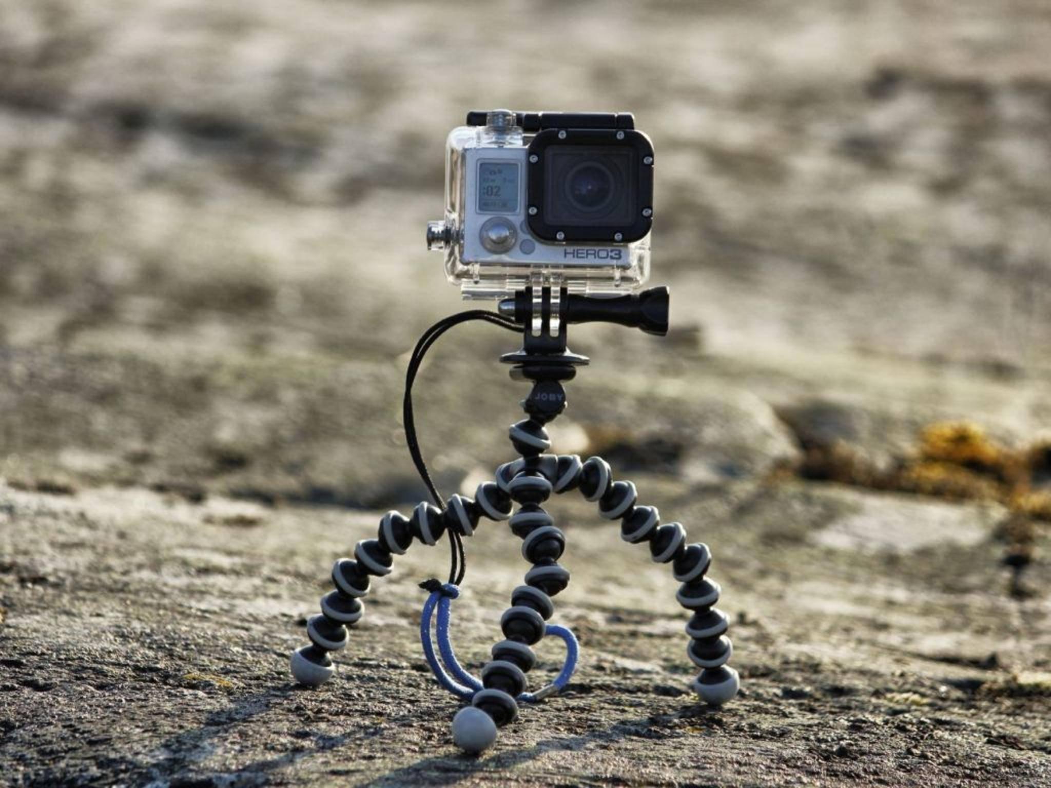 Willst Du bewegte Motive einfangen, sollte die GoPro ruhig stehen.