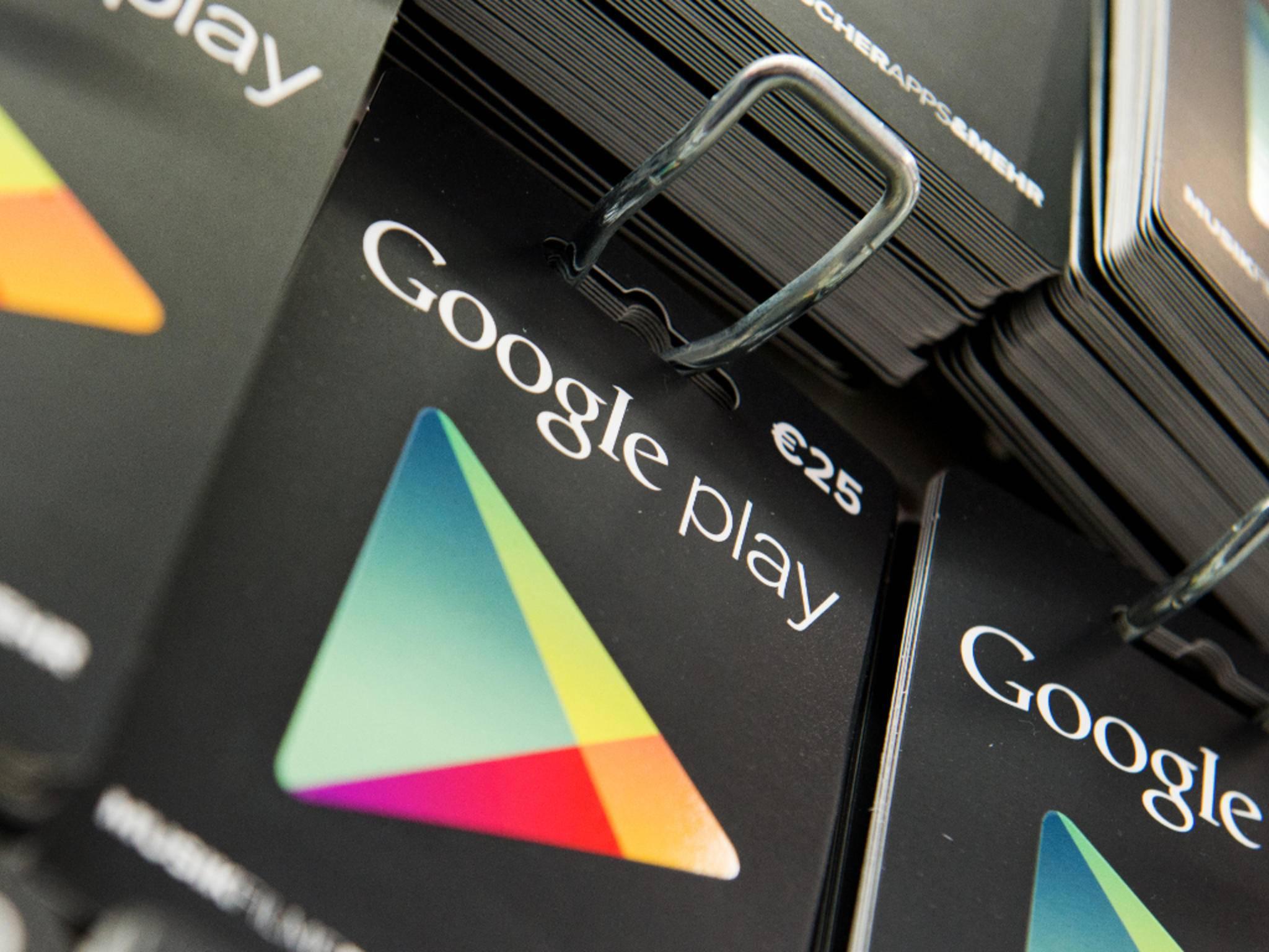 Der Google Play Store erstrahlt bald im neuen Look.